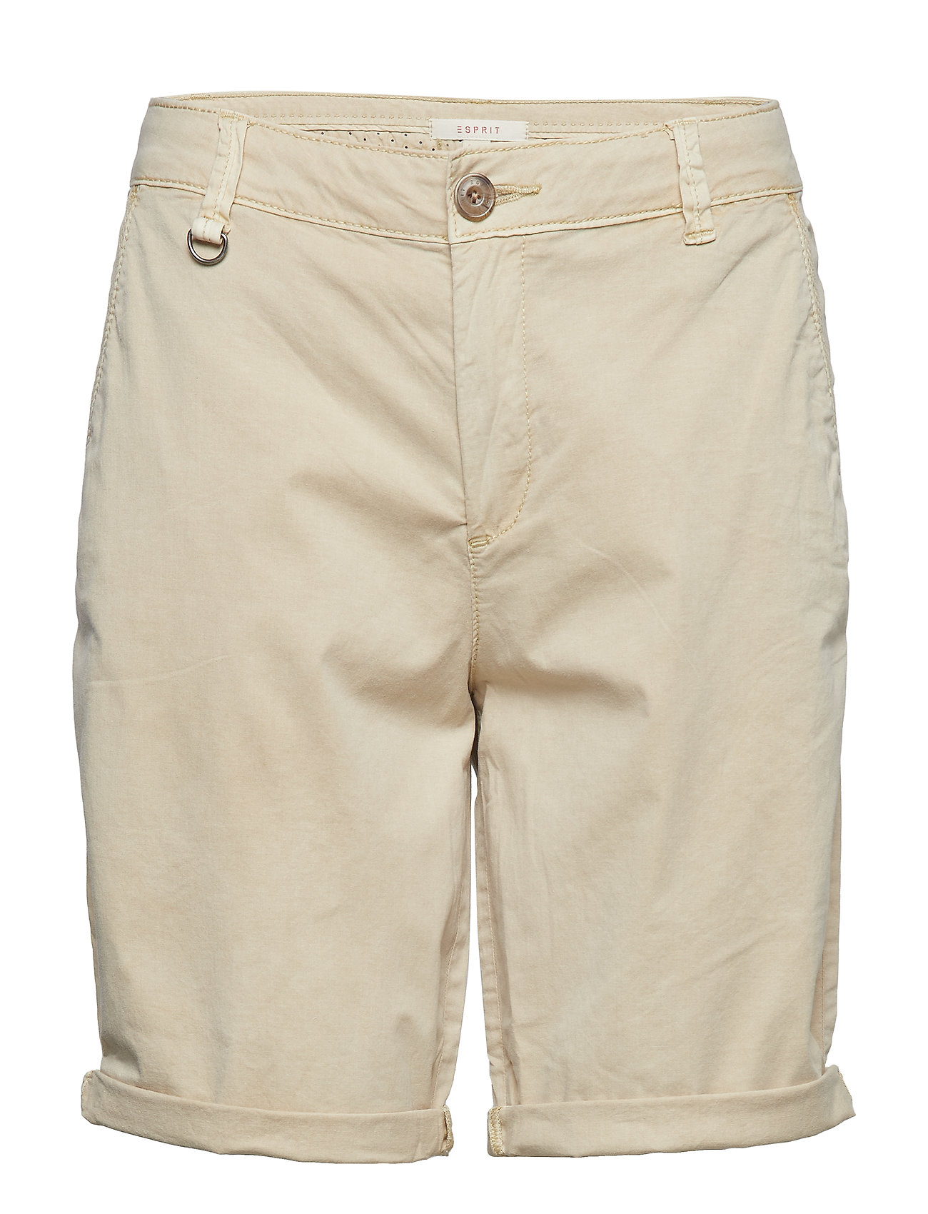 Esprit Casual Shorts woven - LIGHT BEIGE