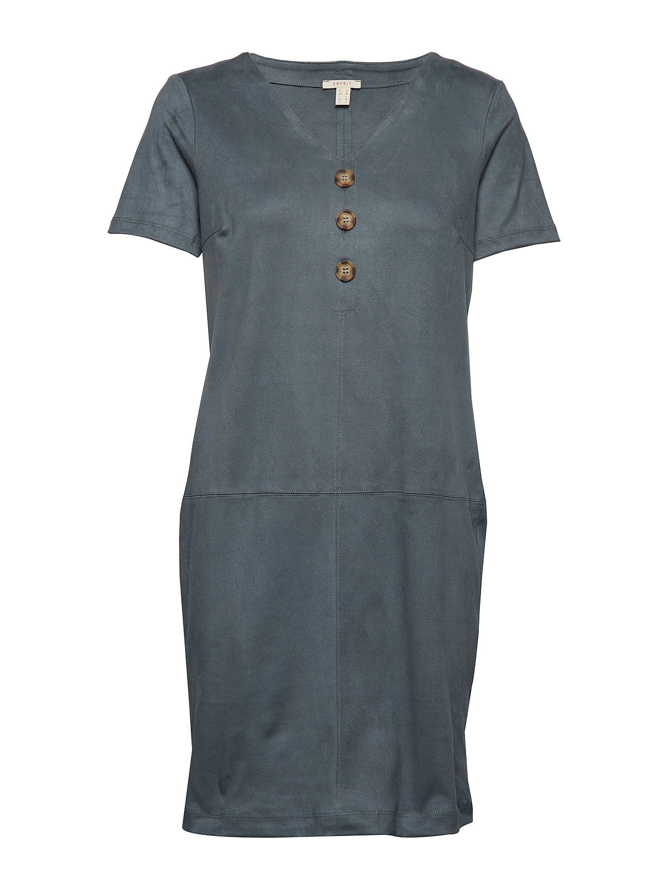 Esprit Casual Dresses knitted - DUSTY GREEN