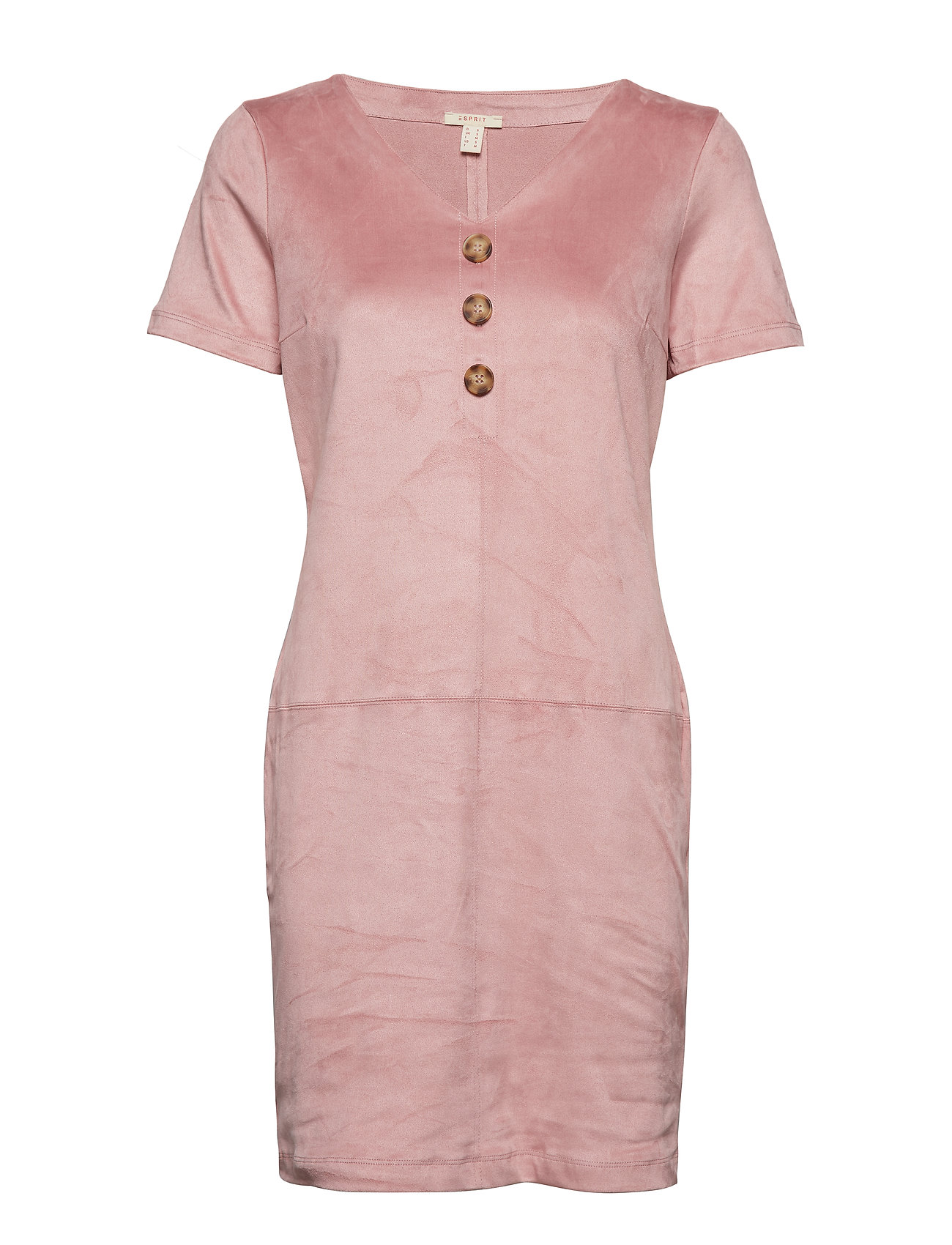 Esprit Casual Dresses knitted - OLD PINK