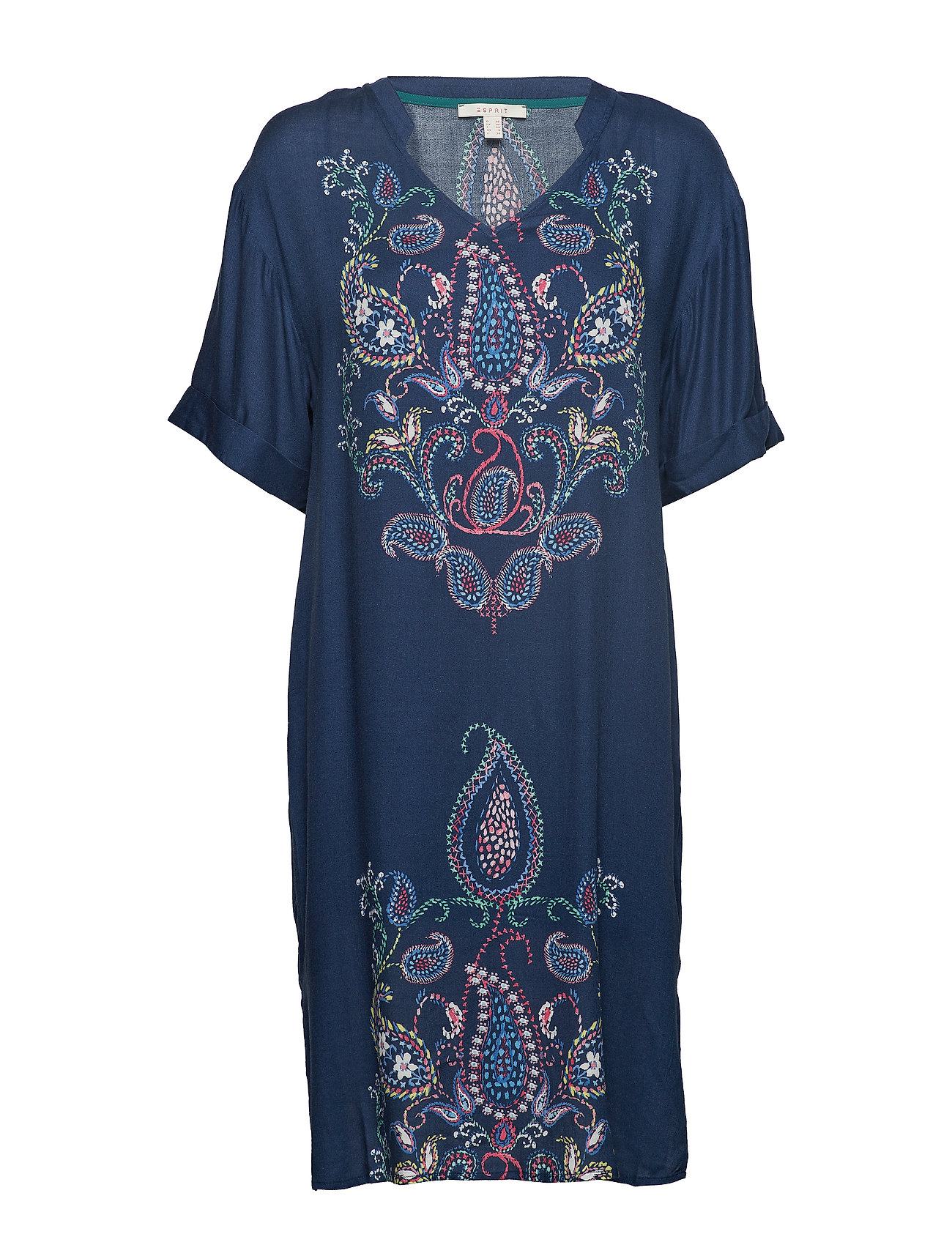 Esprit Casual Dresses light woven - NAVY