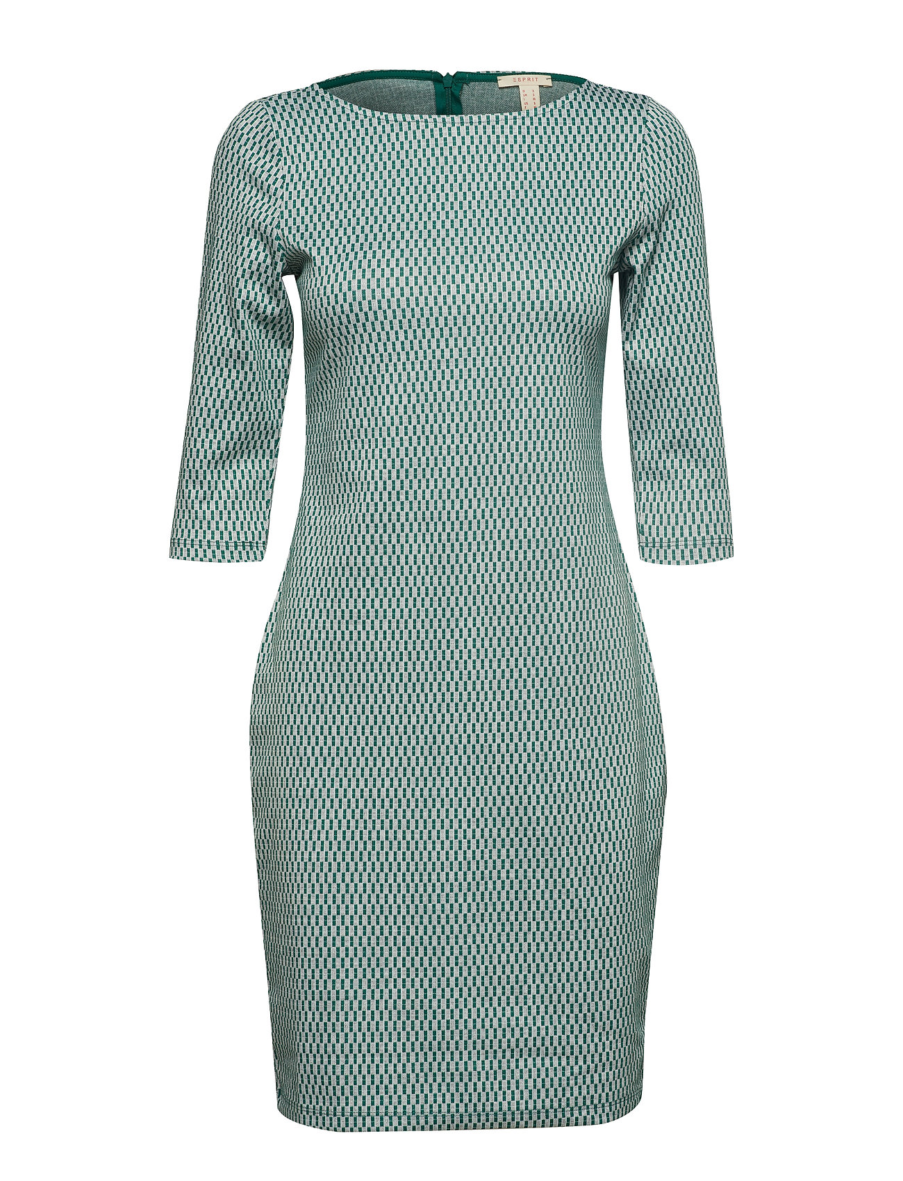 Esprit Casual Dresses knitted - EMERALD GREEN