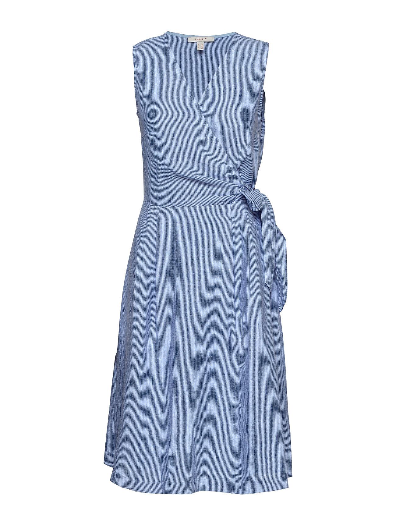 e409c50a Dresses Light Woven midikjoler fra Esprit til dame i BRIGHT BLUE ...
