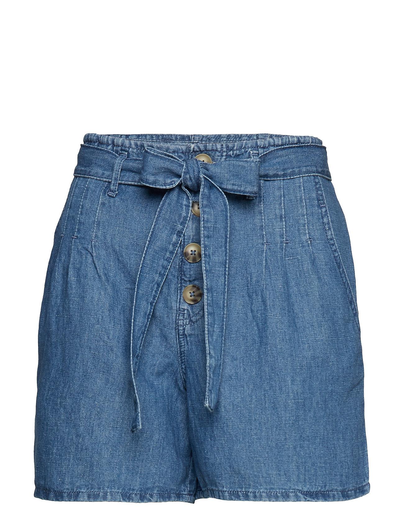 Esprit Casual Shorts denim - BLUE MEDIUM WASH
