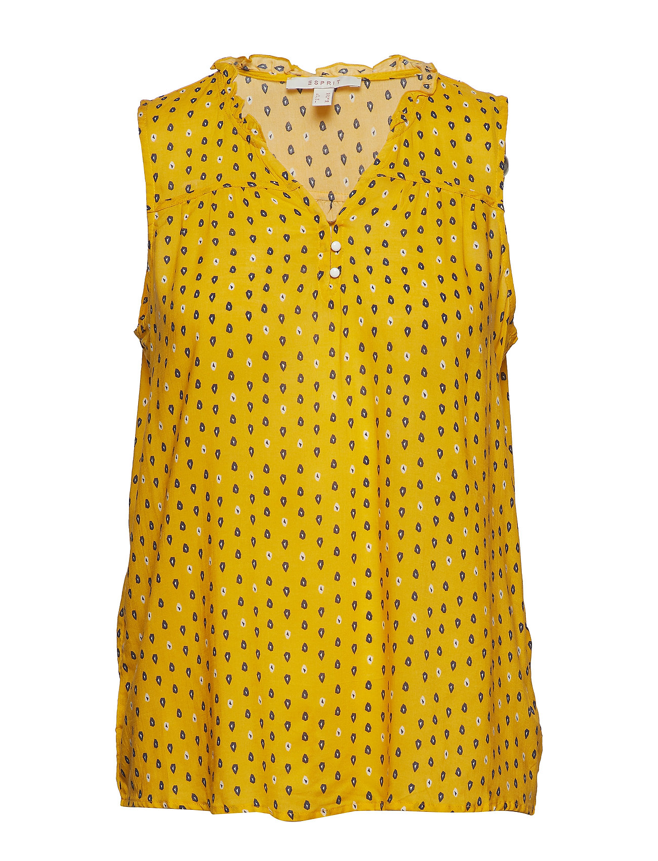 Esprit Casual Blouses woven - YELLOW