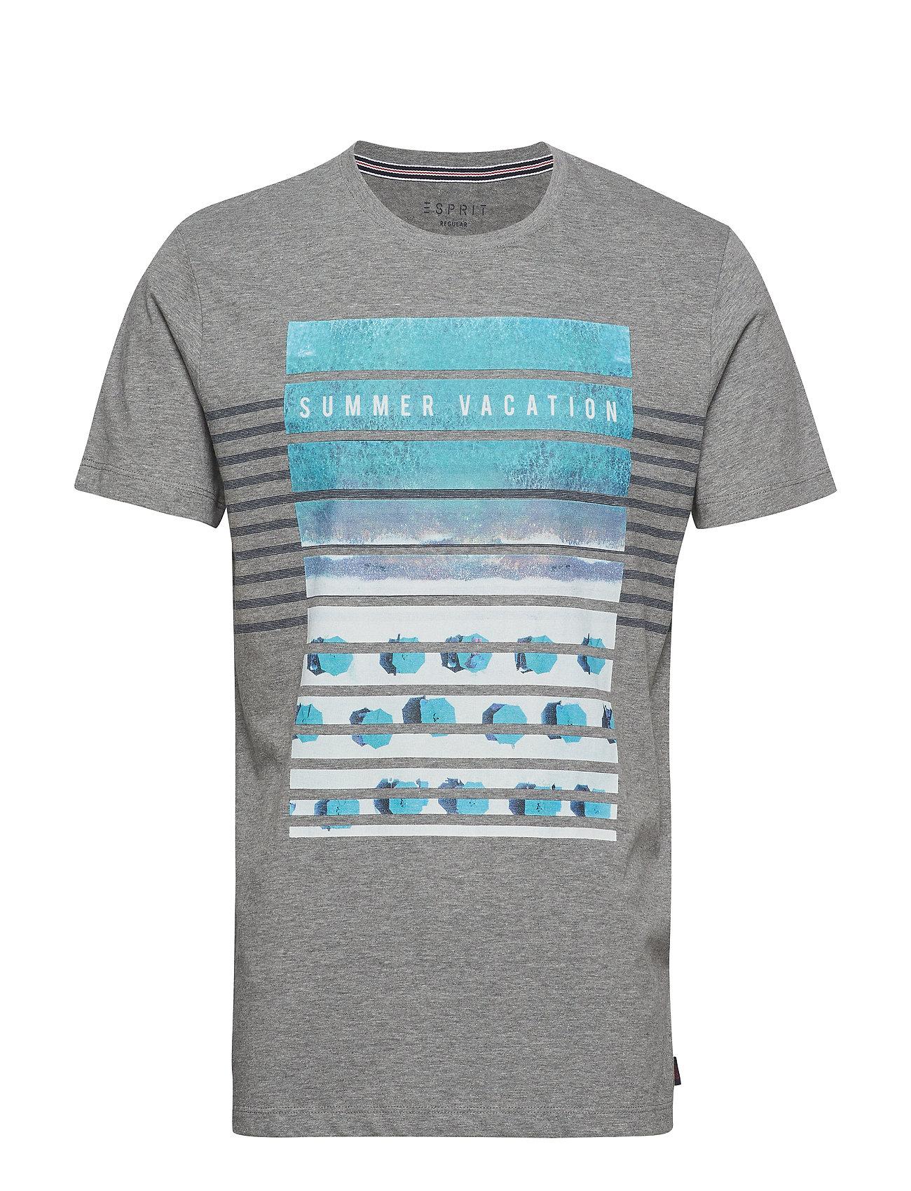 Esprit Casual T-Shirts - MEDIUM GREY
