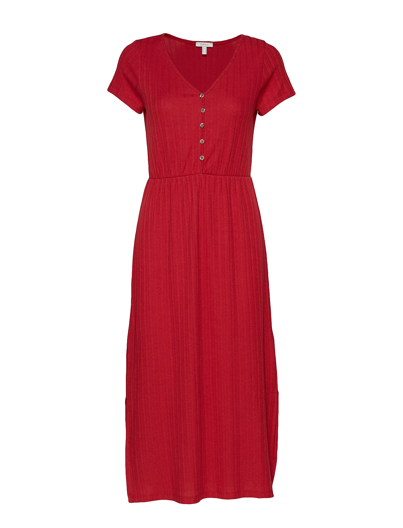 Esprit Casual Dresses knitted - RED