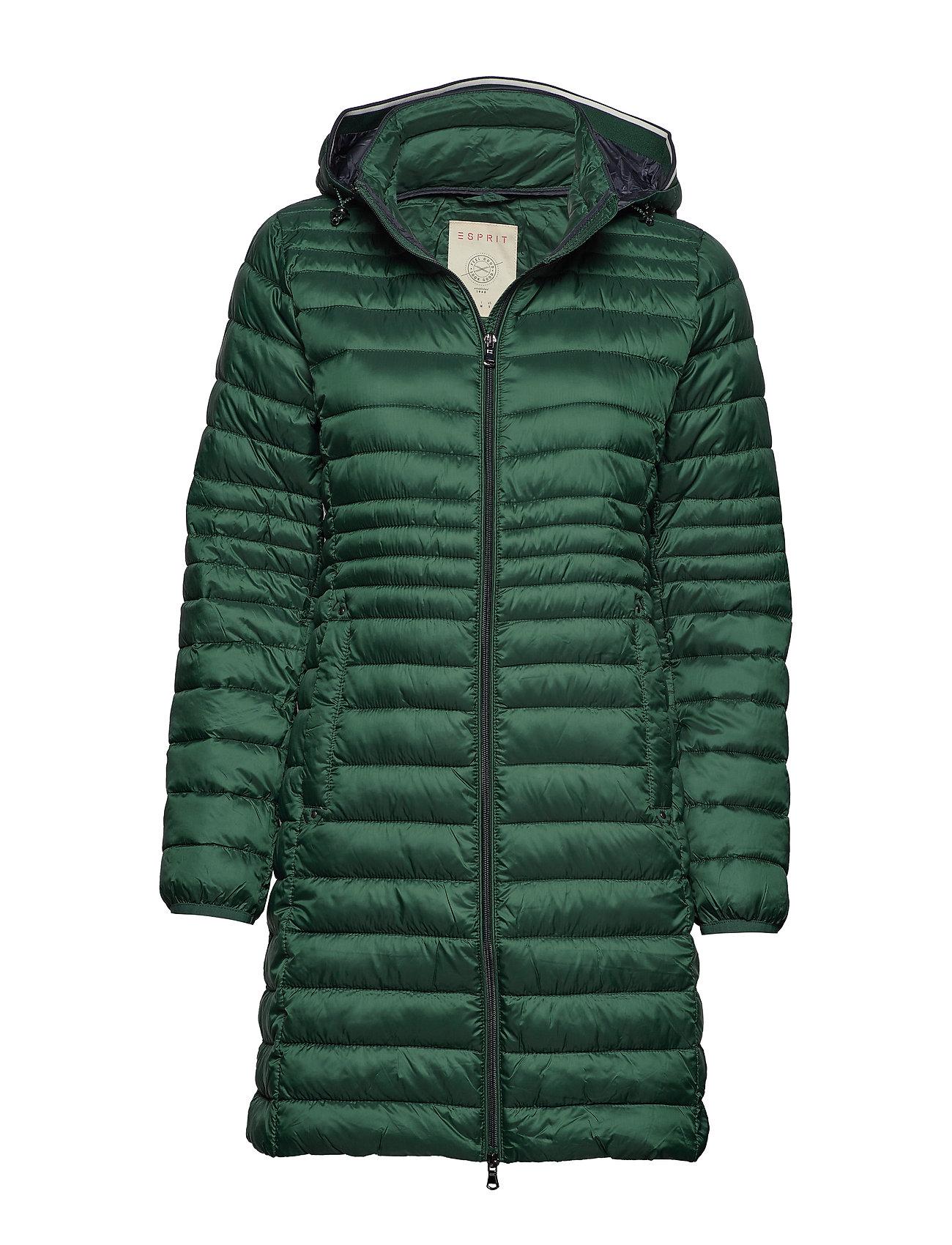 Esprit Casual Coats woven - BOTTLE GREEN