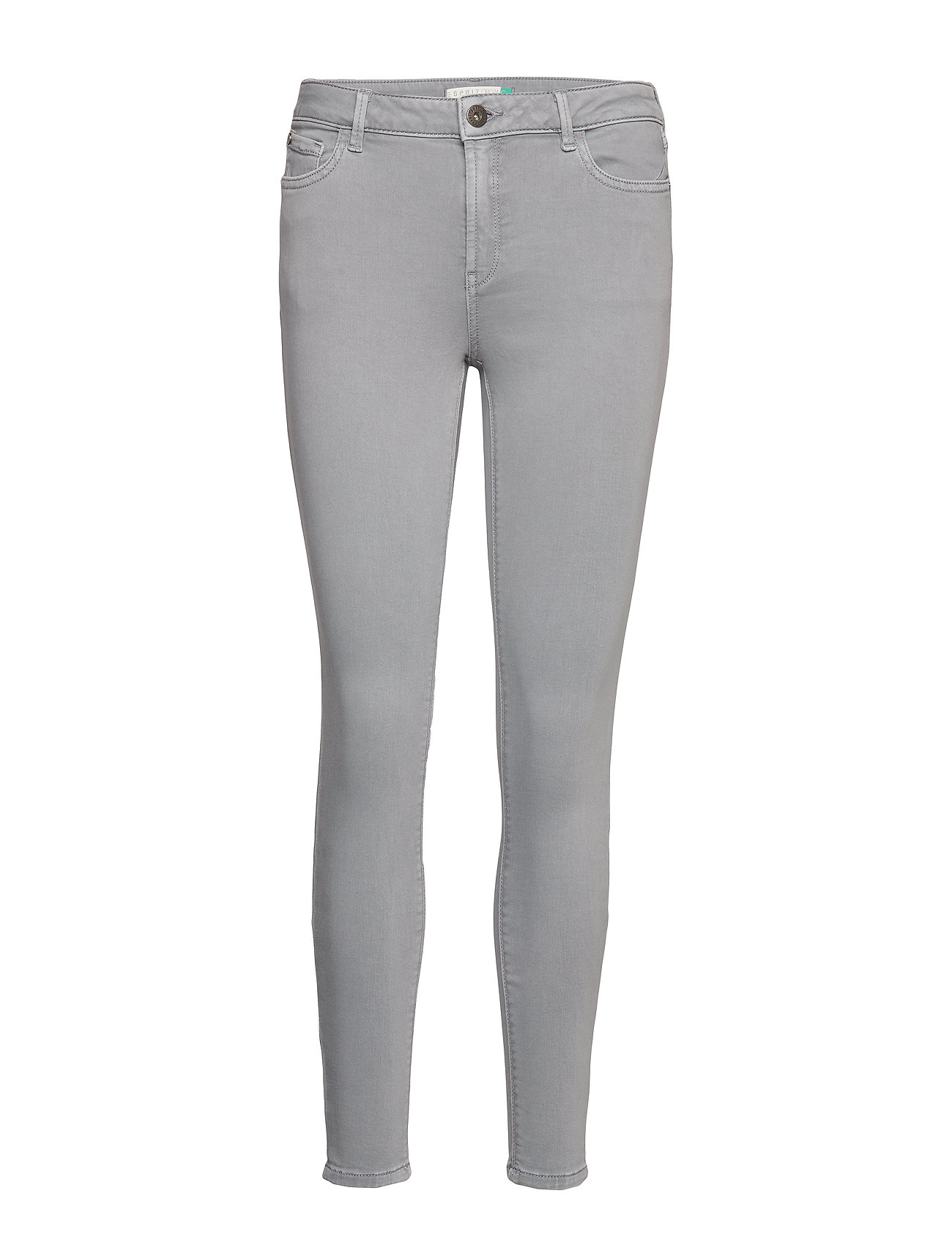 Esprit Casual Pants woven - GREY BLUE