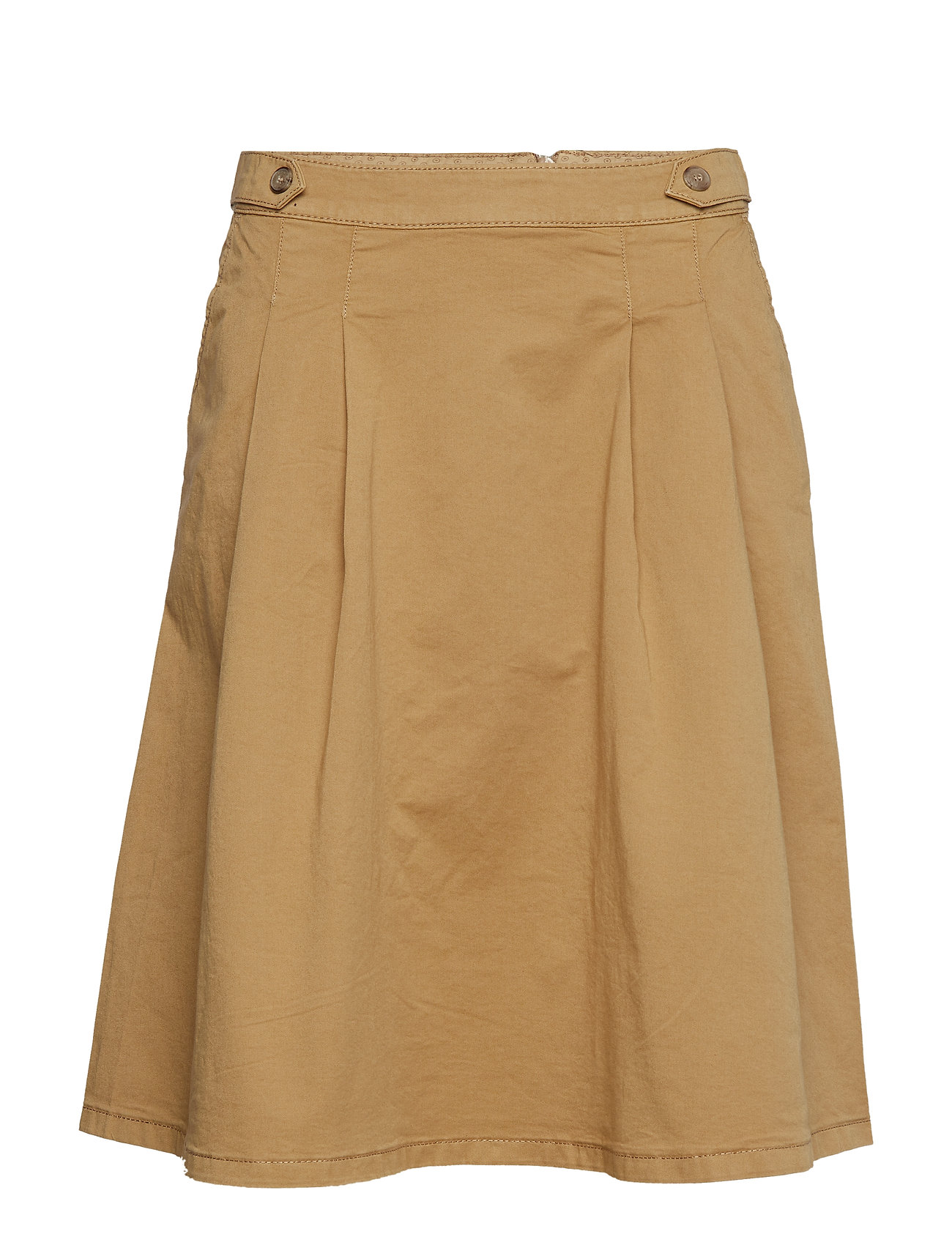 Esprit Casual Skirts woven - CAMEL