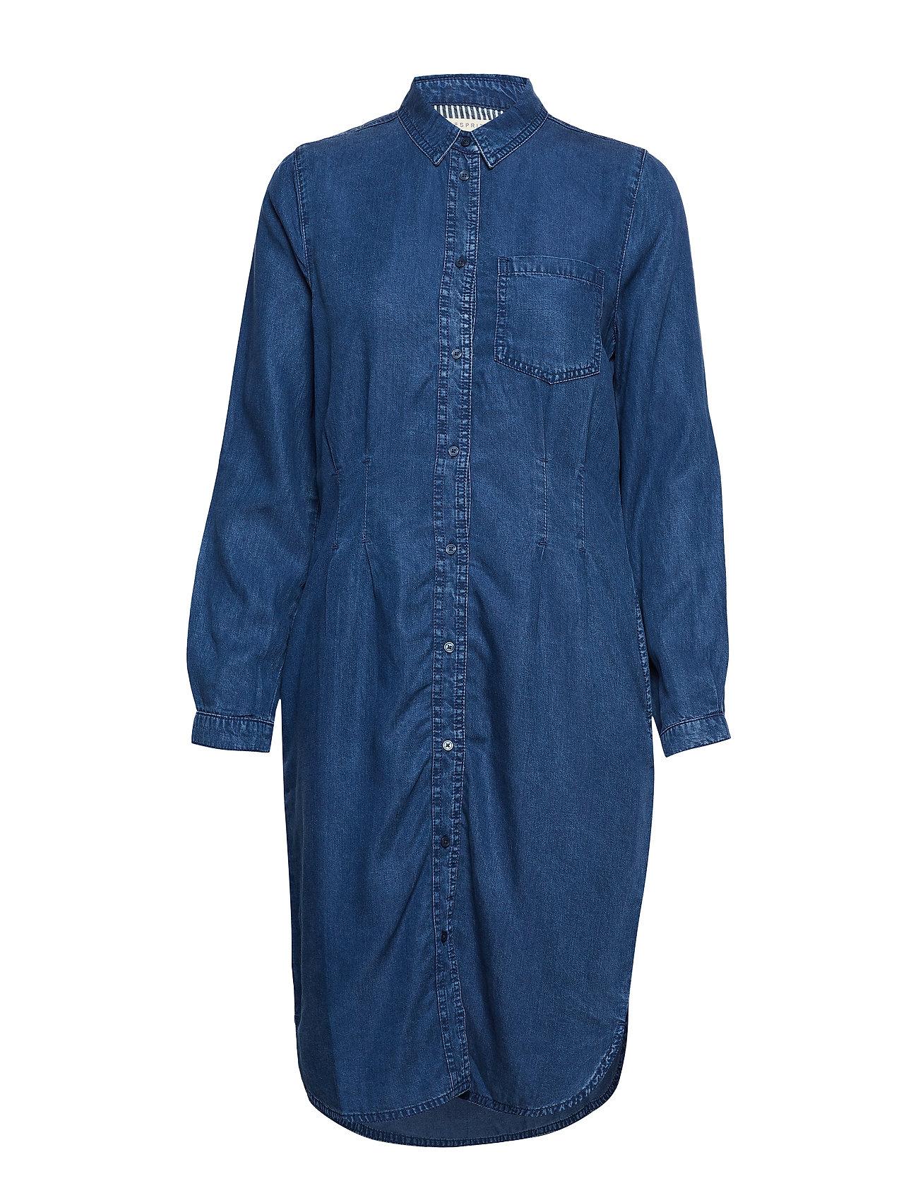 Esprit Casual Dresses denim - BLUE MEDIUM WASH