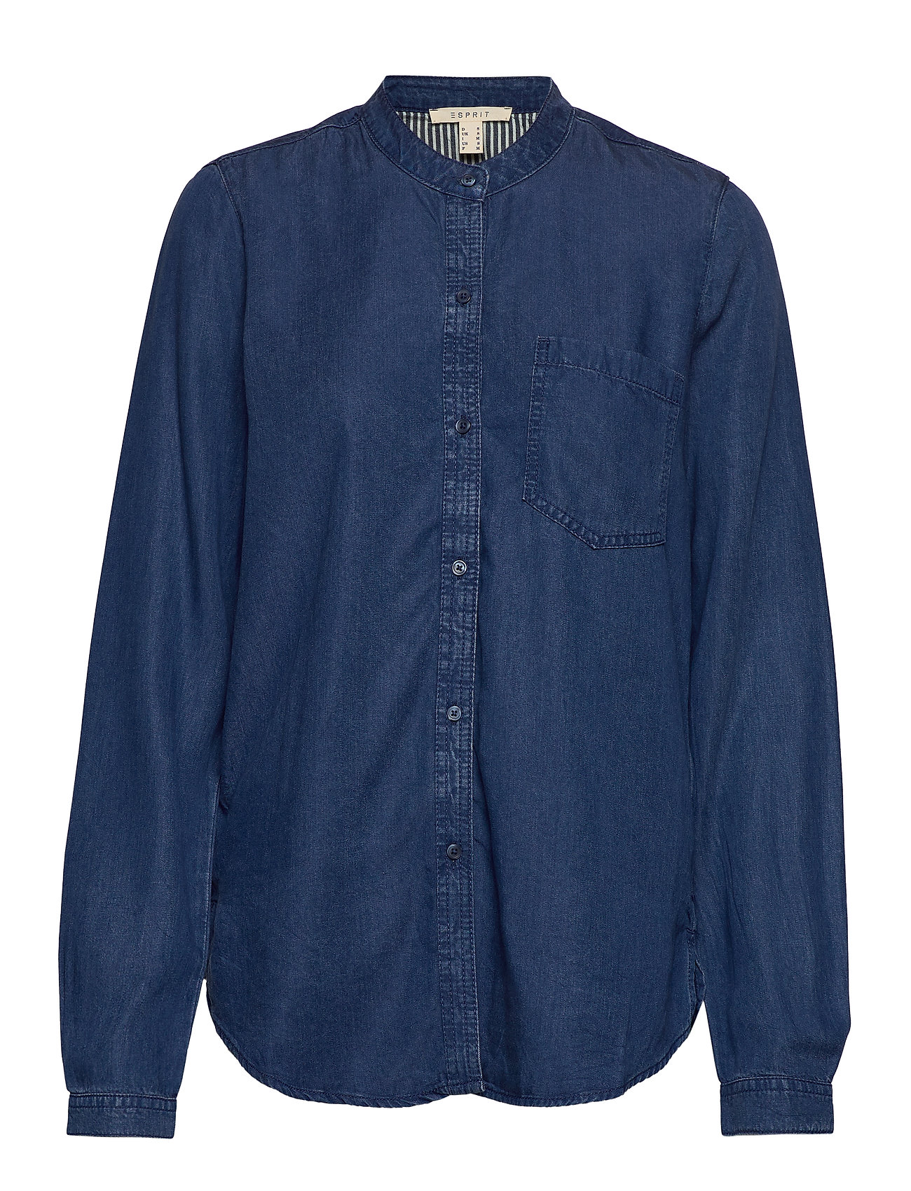 Esprit Casual Blouses denim - BLUE MEDIUM WASH