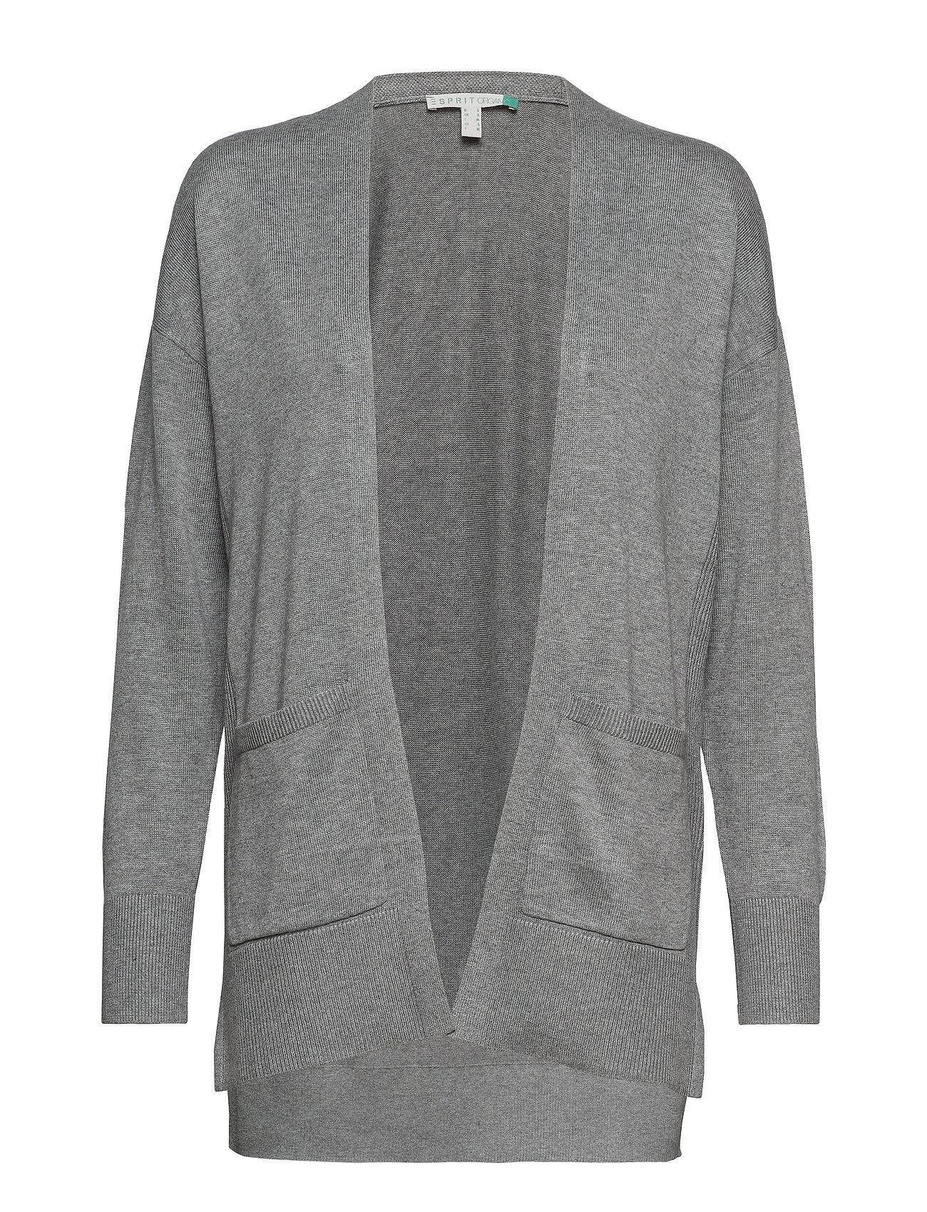 Esprit Casual Sweaters cardigan - GUNMETAL 5