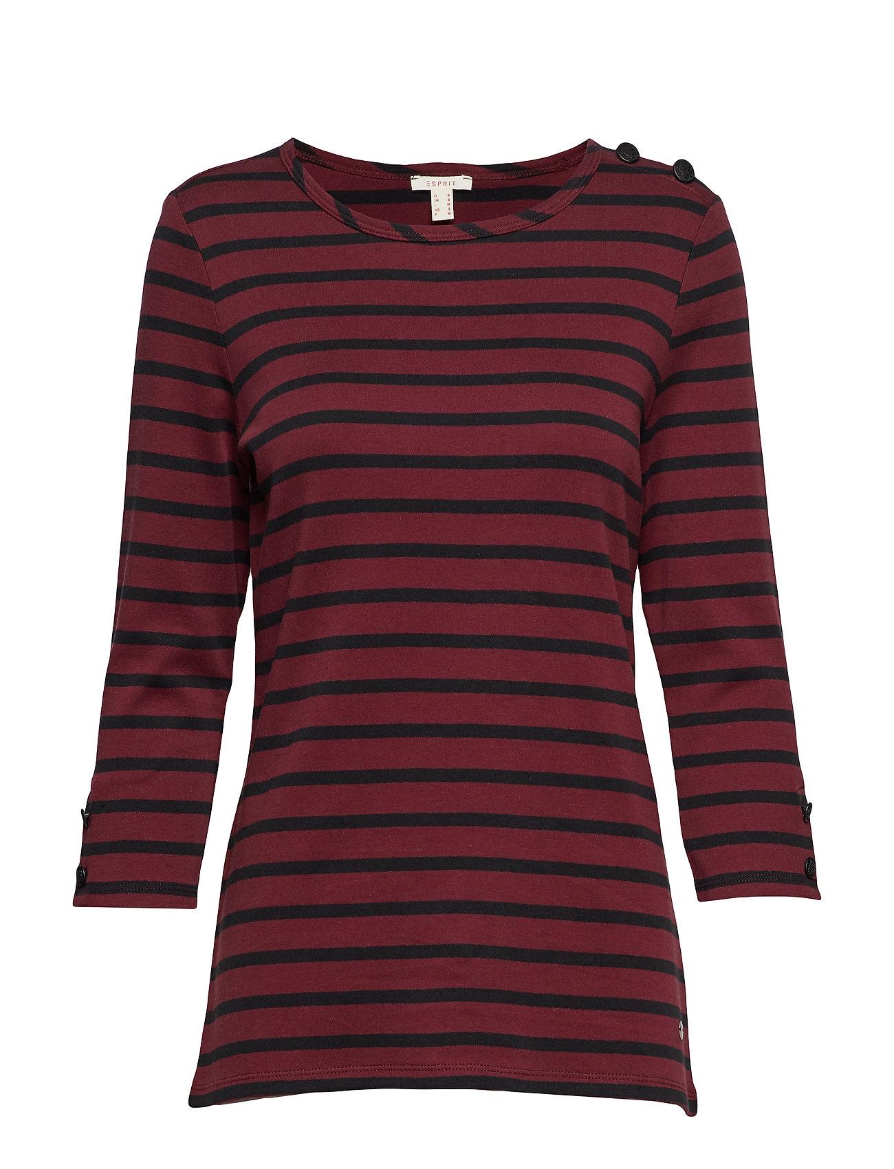 Esprit Casual T-Shirts - GARNET RED 4