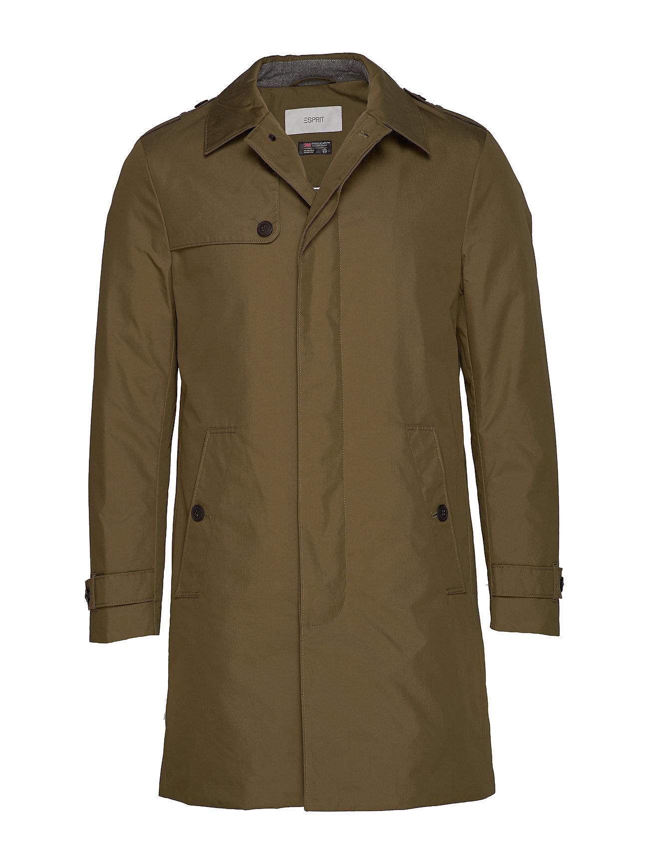 ESPRIT Coats Woven Dünner Mantel Grün ESPRIT CASUAL