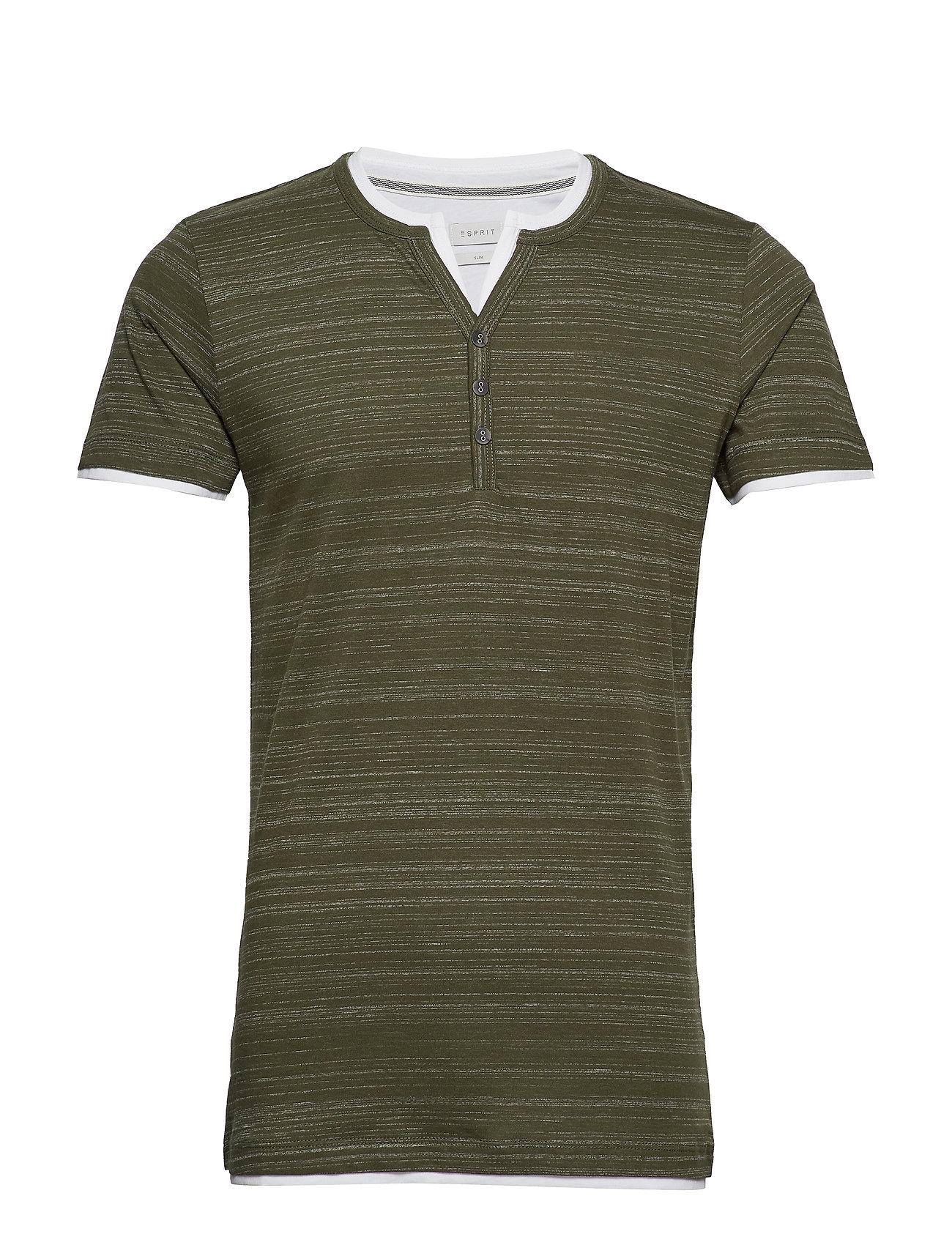 Esprit Casual T-Shirts - KHAKI GREEN