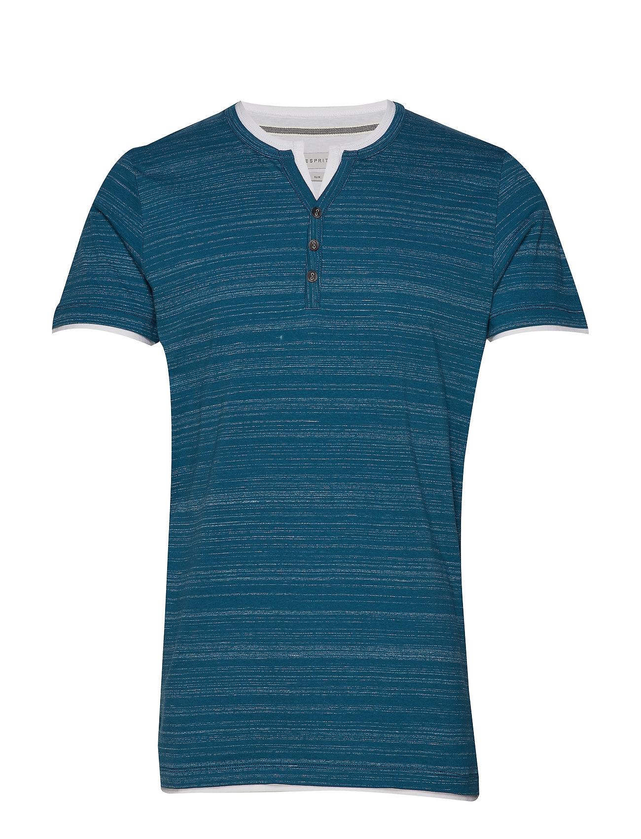 Esprit Casual T-Shirts - PETROL BLUE