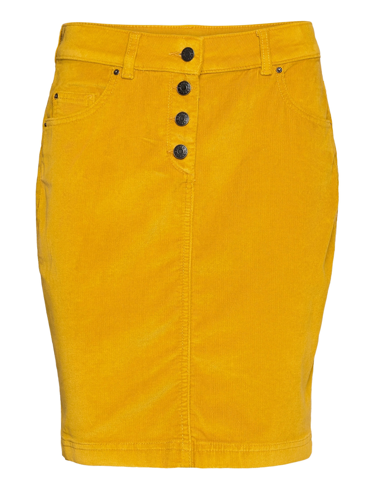 Image of Skirts Woven Kort Nederdel Gul Esprit Casual (3457715785)