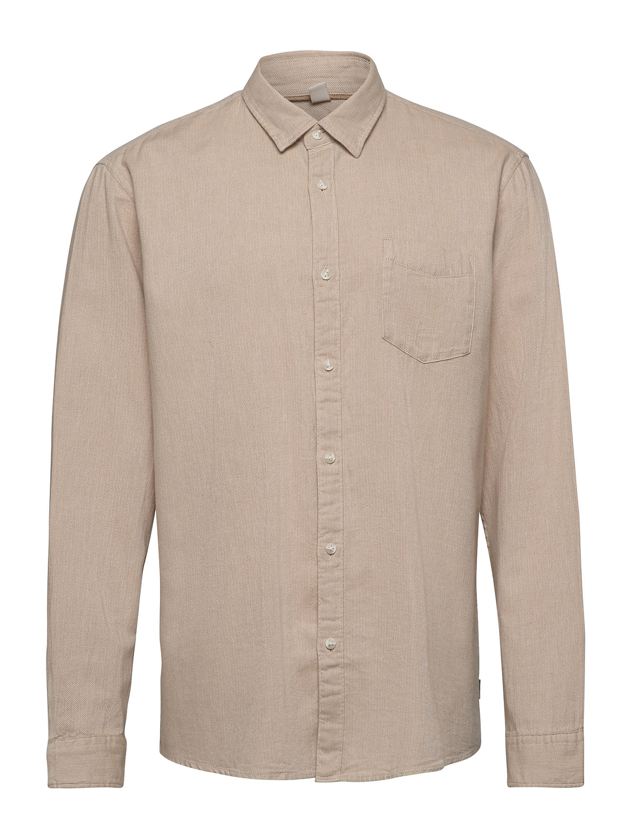 Image of Shirts Woven Skjorte Casual Brun Esprit Casual (3457409209)