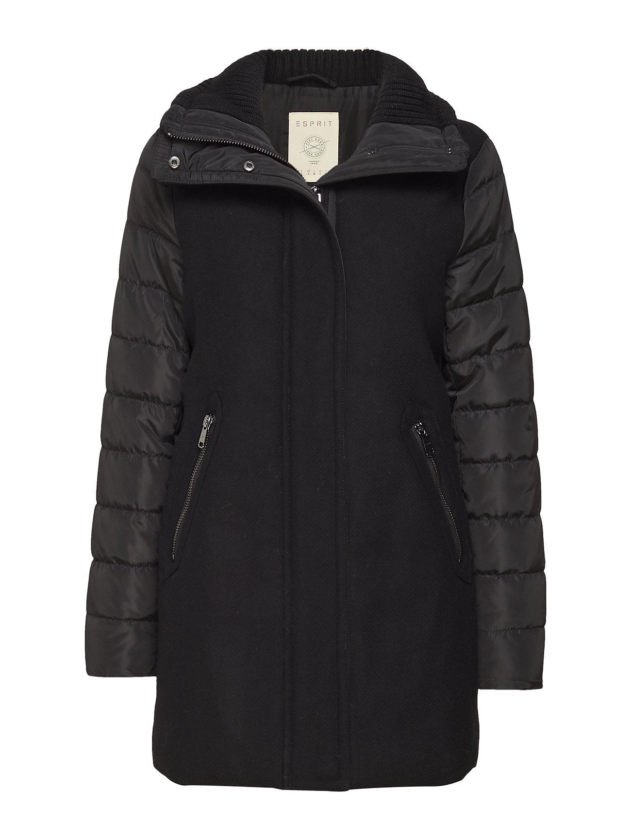 Esprit Casual Coats woven - BLACK