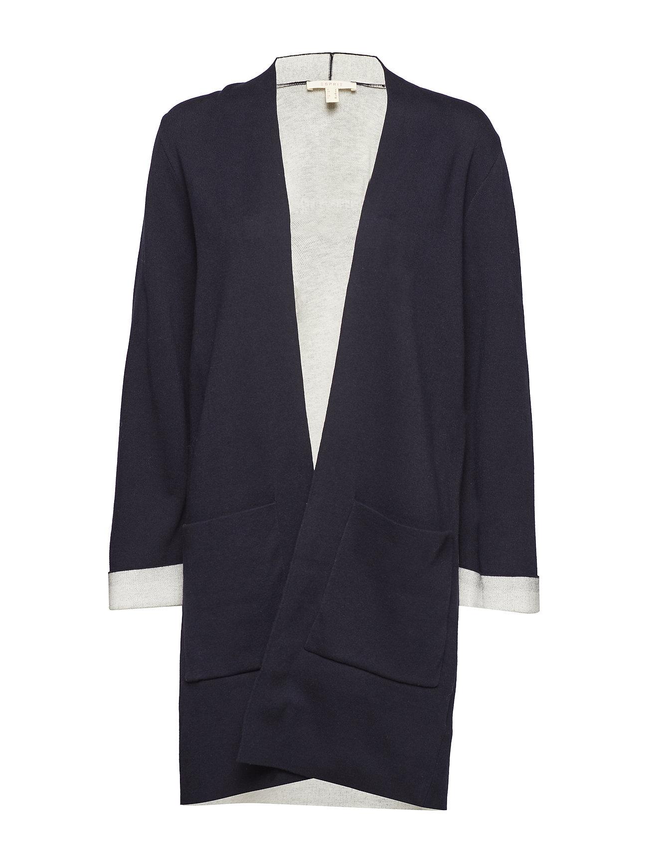 Esprit Casual Sweaters cardigan - NAVY