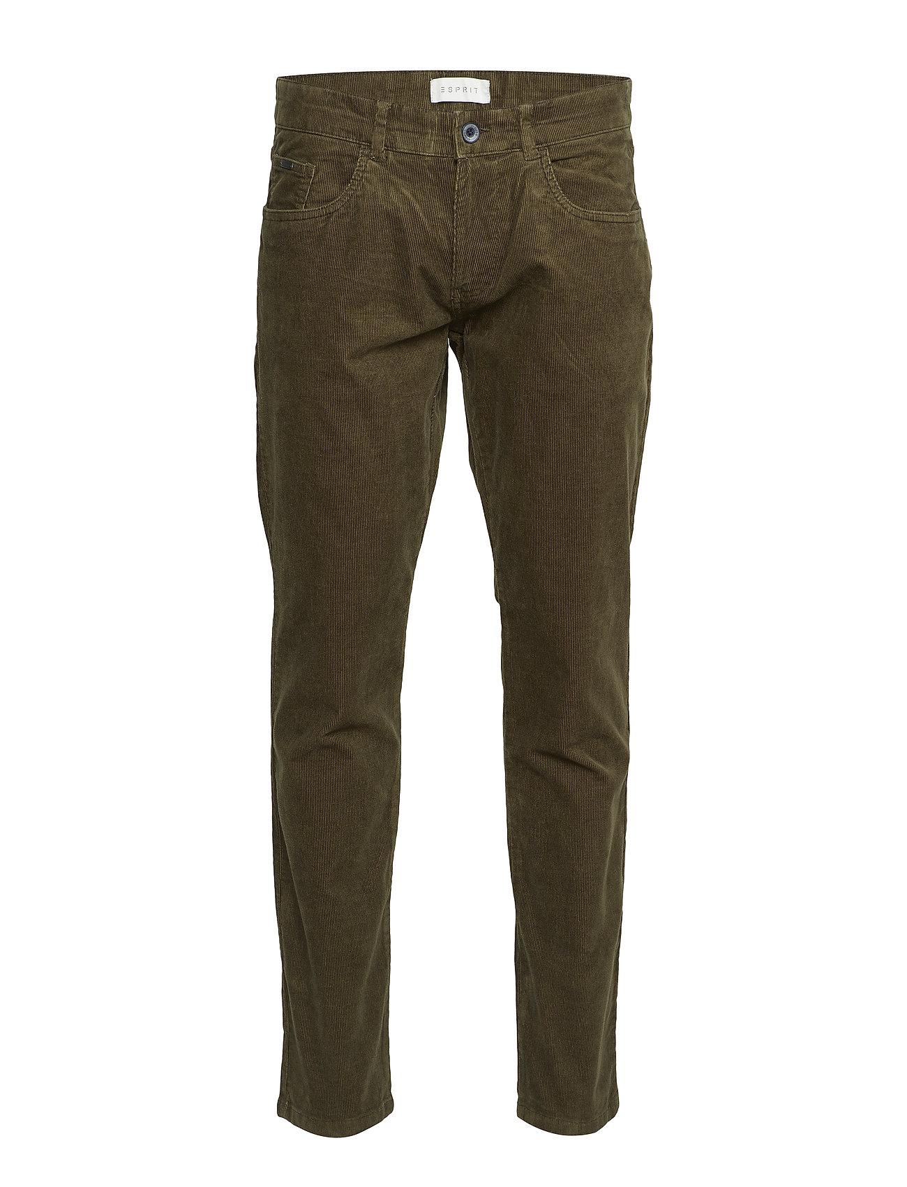 Esprit Casual Pants woven - OLIVE