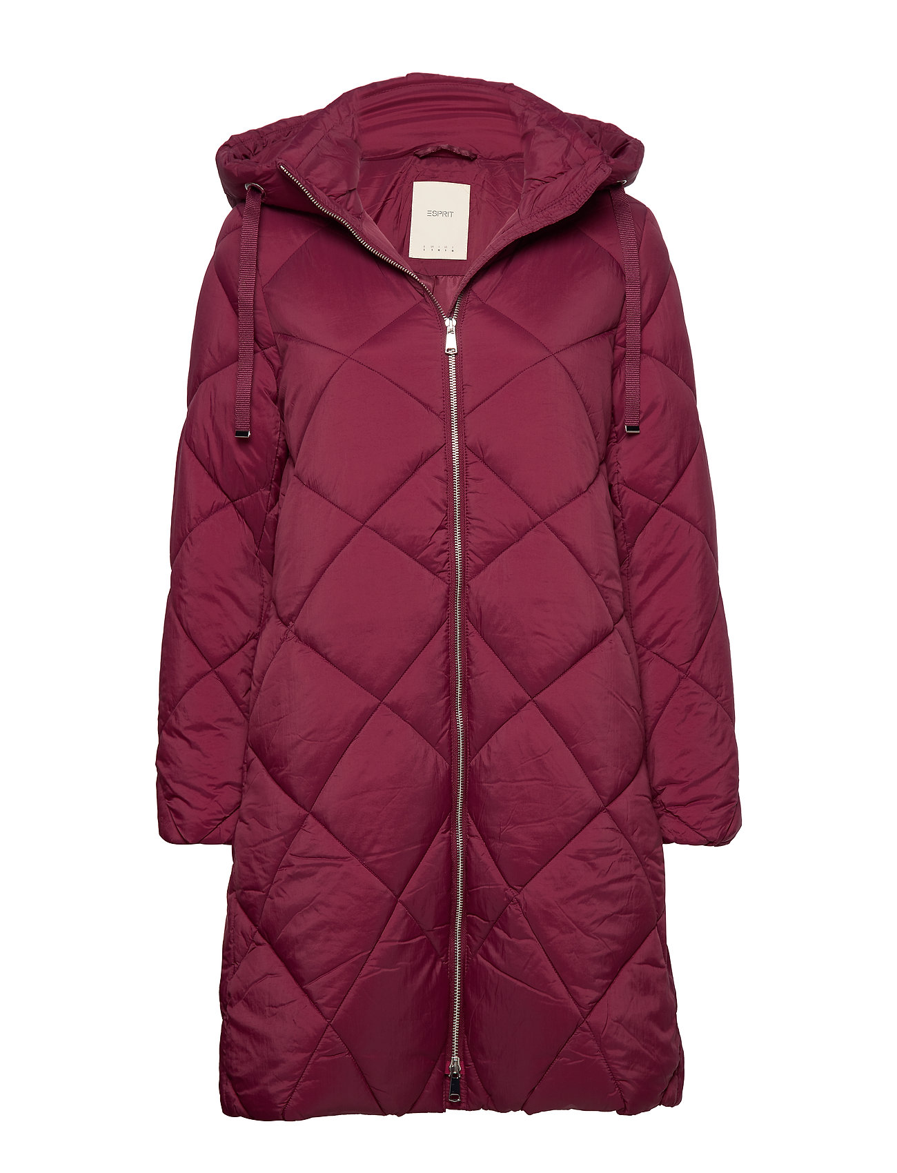 Esprit Casual Coats woven - BORDEAUX RED