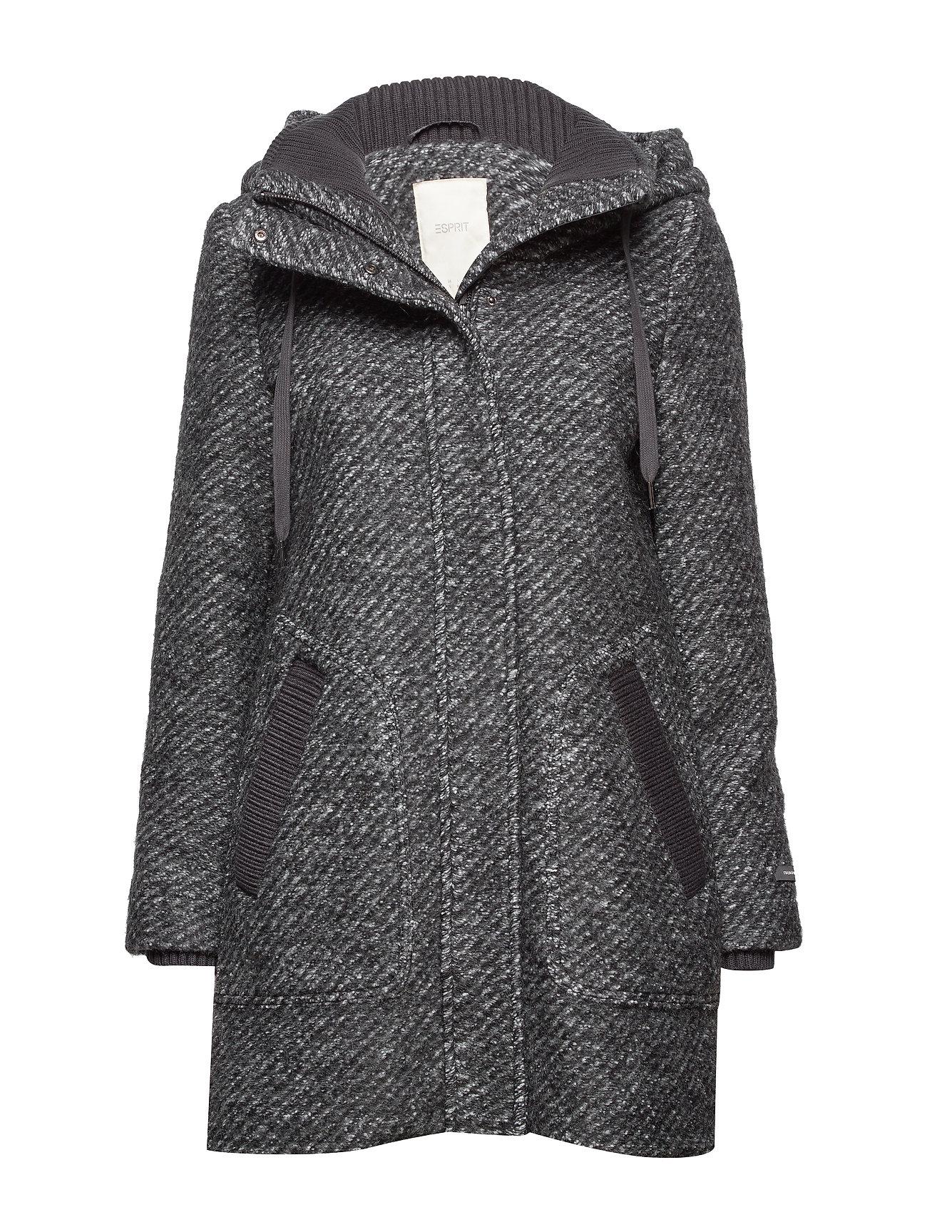 Esprit Casual Coats woven - DARK GREY 5