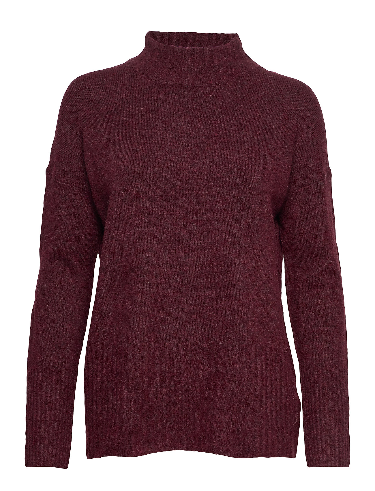 Esprit Casual Sweaters - BORDEAUX RED 5