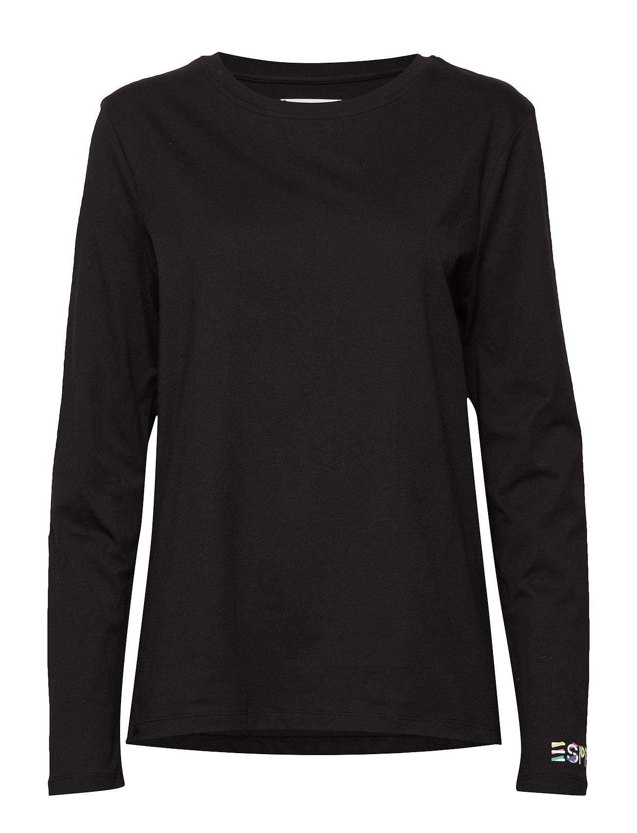 Esprit Casual T-Shirts - BLACK