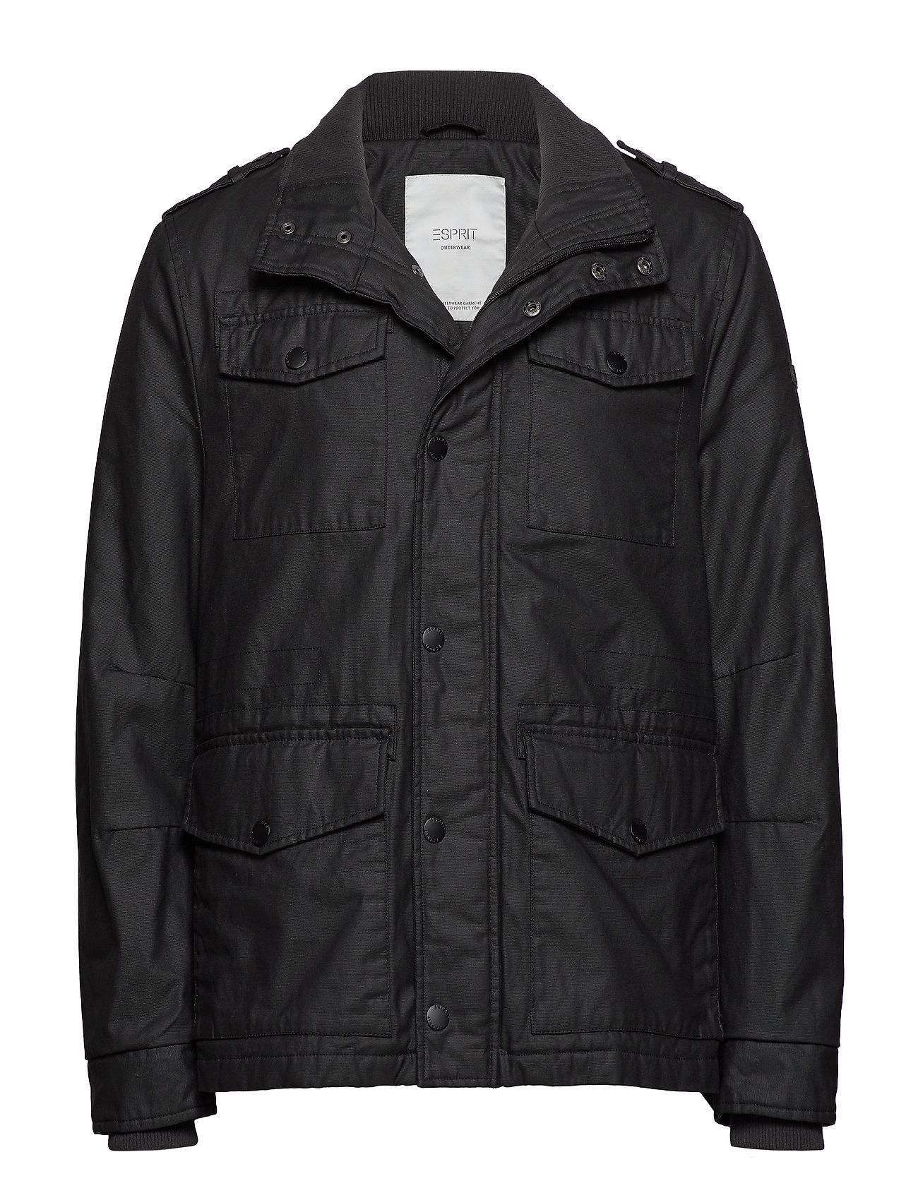 ESPRIT Jackets Outdoor Woven Dünne Jacke Schwarz ESPRIT CASUAL