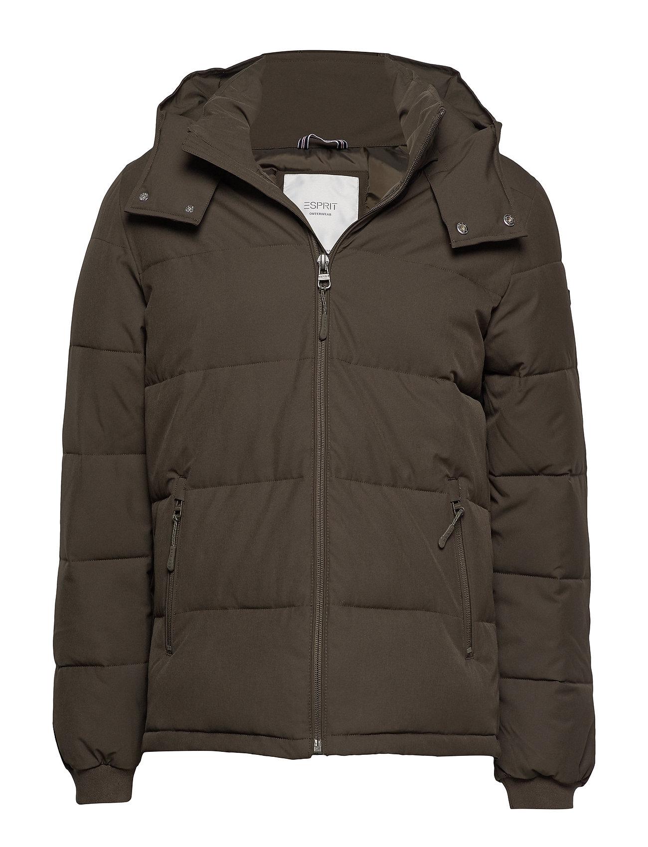 ESPRIT Jackets Outdoor Woven Gefütterte Jacke Grün ESPRIT CASUAL