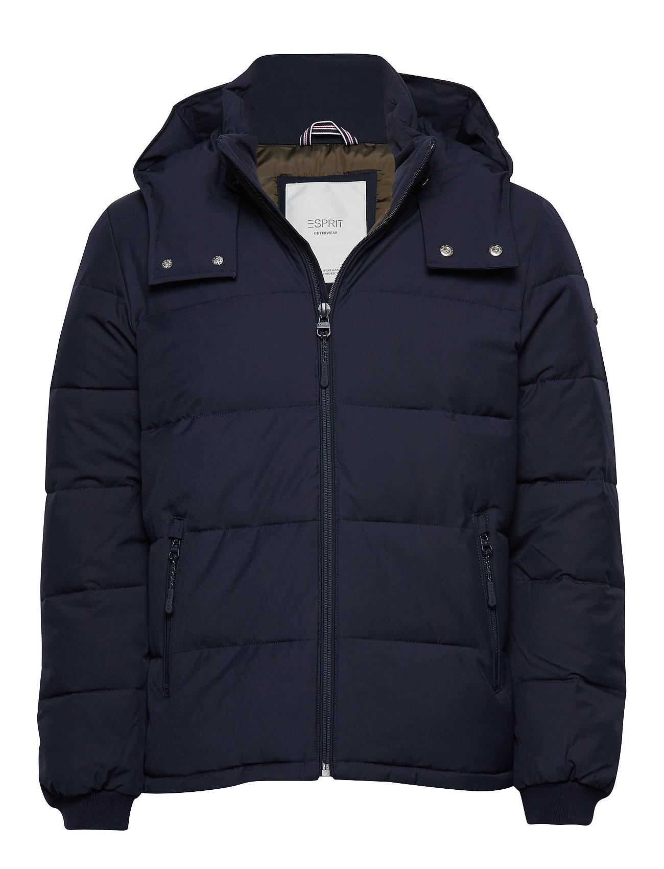 ESPRIT Jackets Outdoor Woven Gefütterte Jacke Blau ESPRIT CASUAL