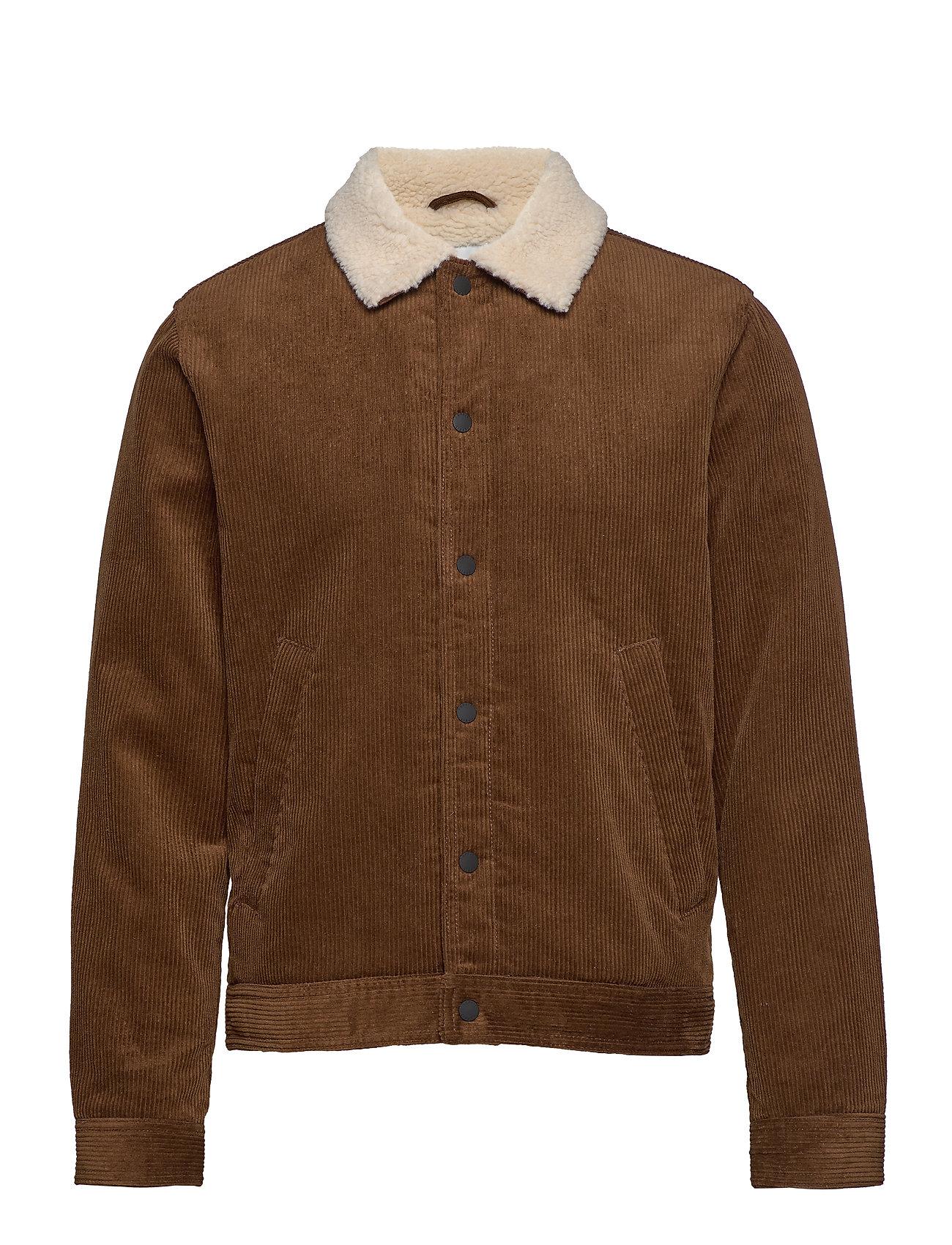 ESPRIT Jackets Outdoor Woven Jeansjacke Denimjacke Braun ESPRIT CASUAL