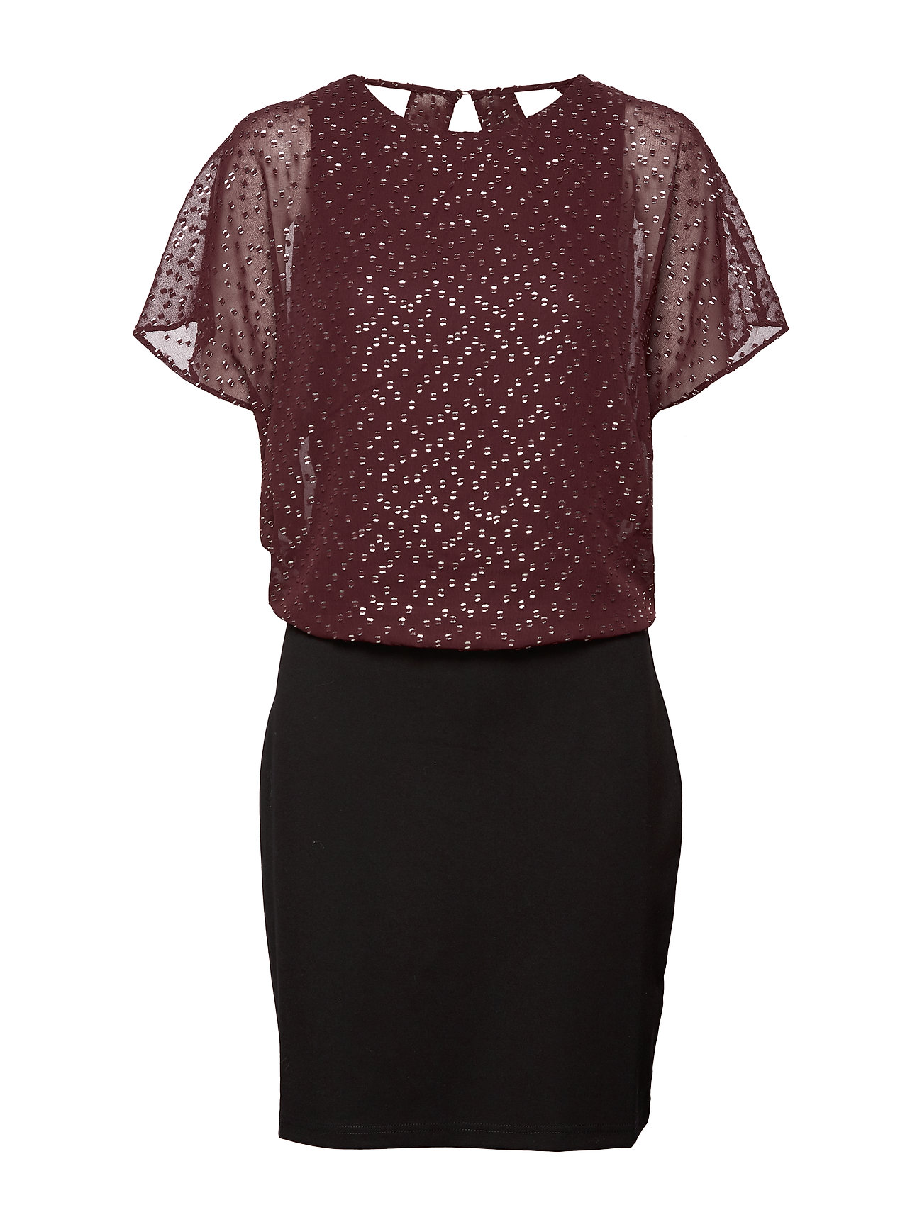 Esprit Casual Dresses light woven - BORDEAUX RED