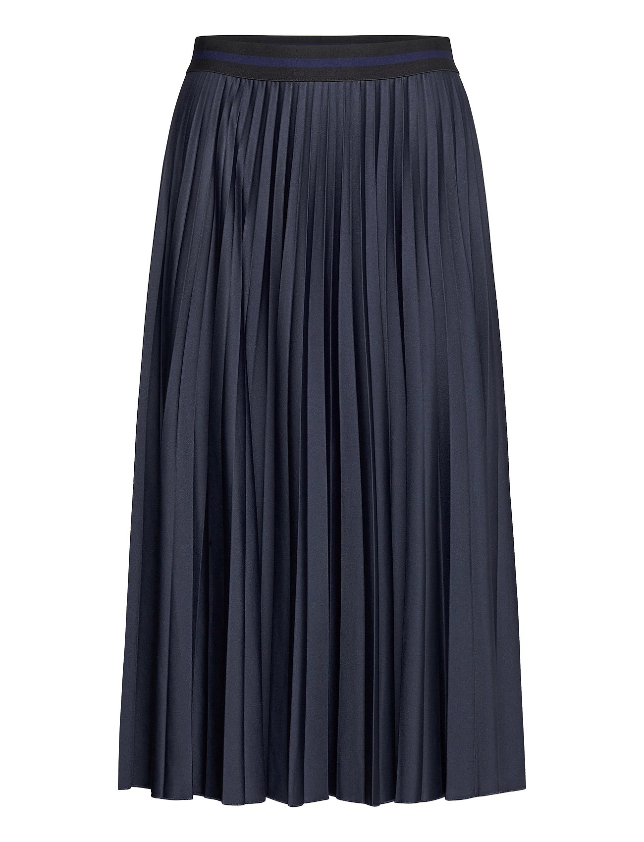 Image of Skirts Knitted Knælang Nederdel Blå Esprit Casual (3480588511)