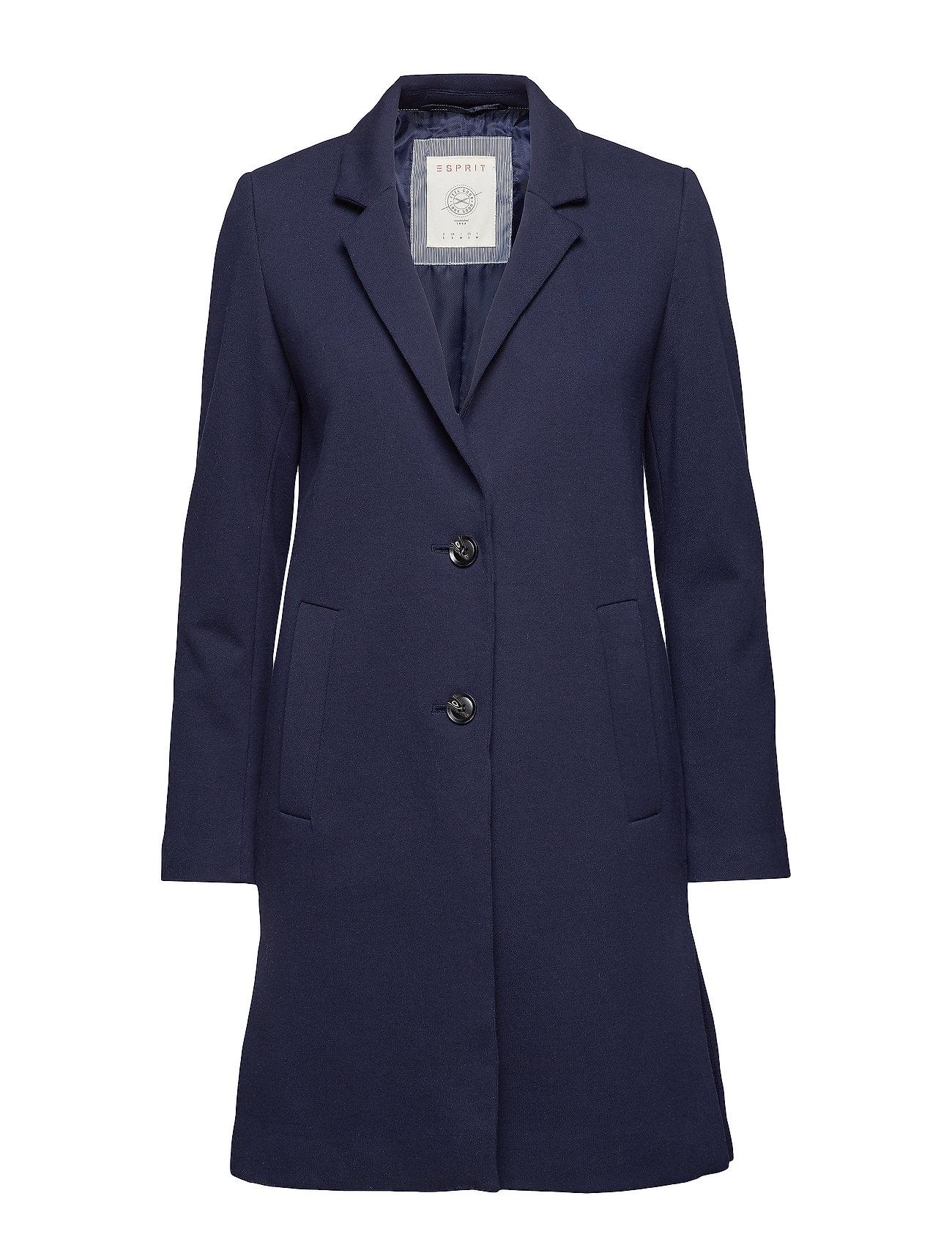 Esprit Casual Coats woven - NAVY