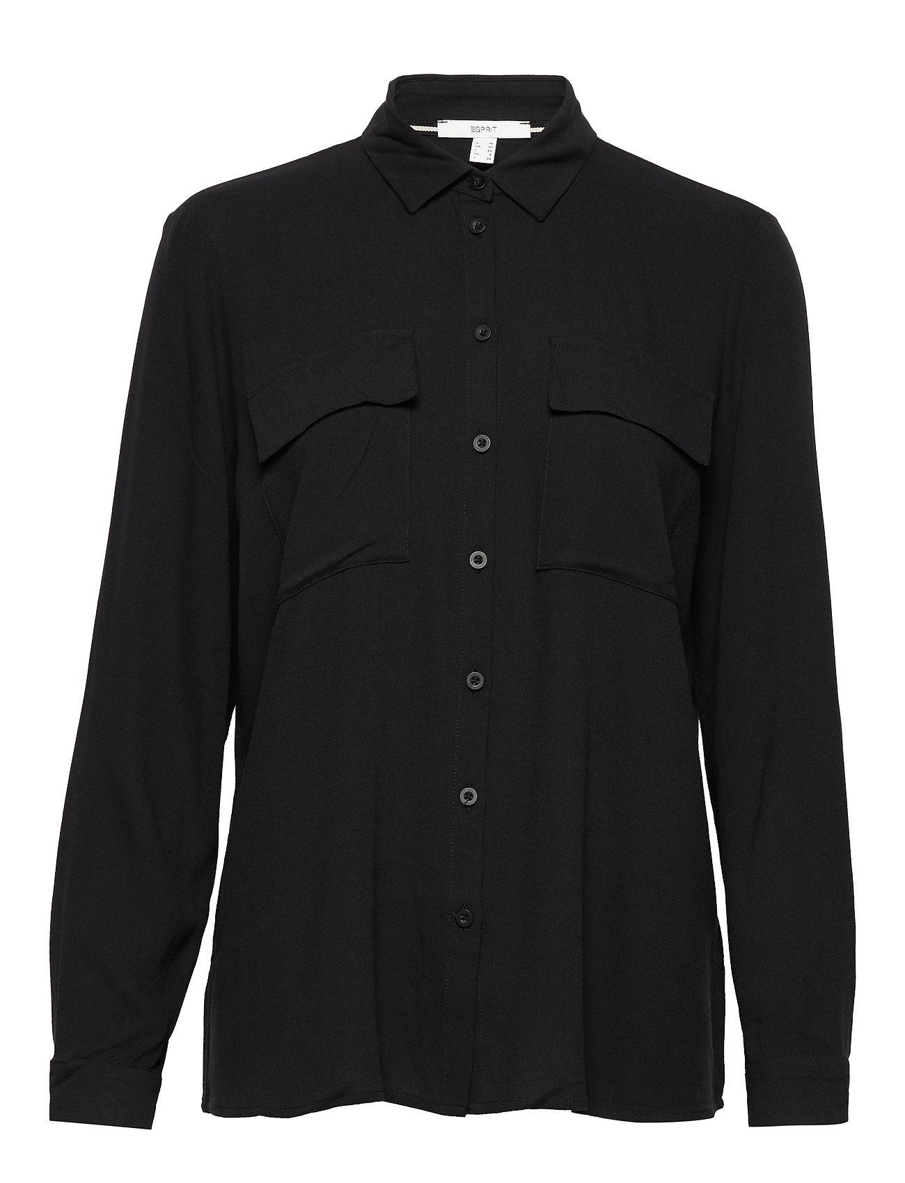 Esprit Casual Blouses woven - BLACK