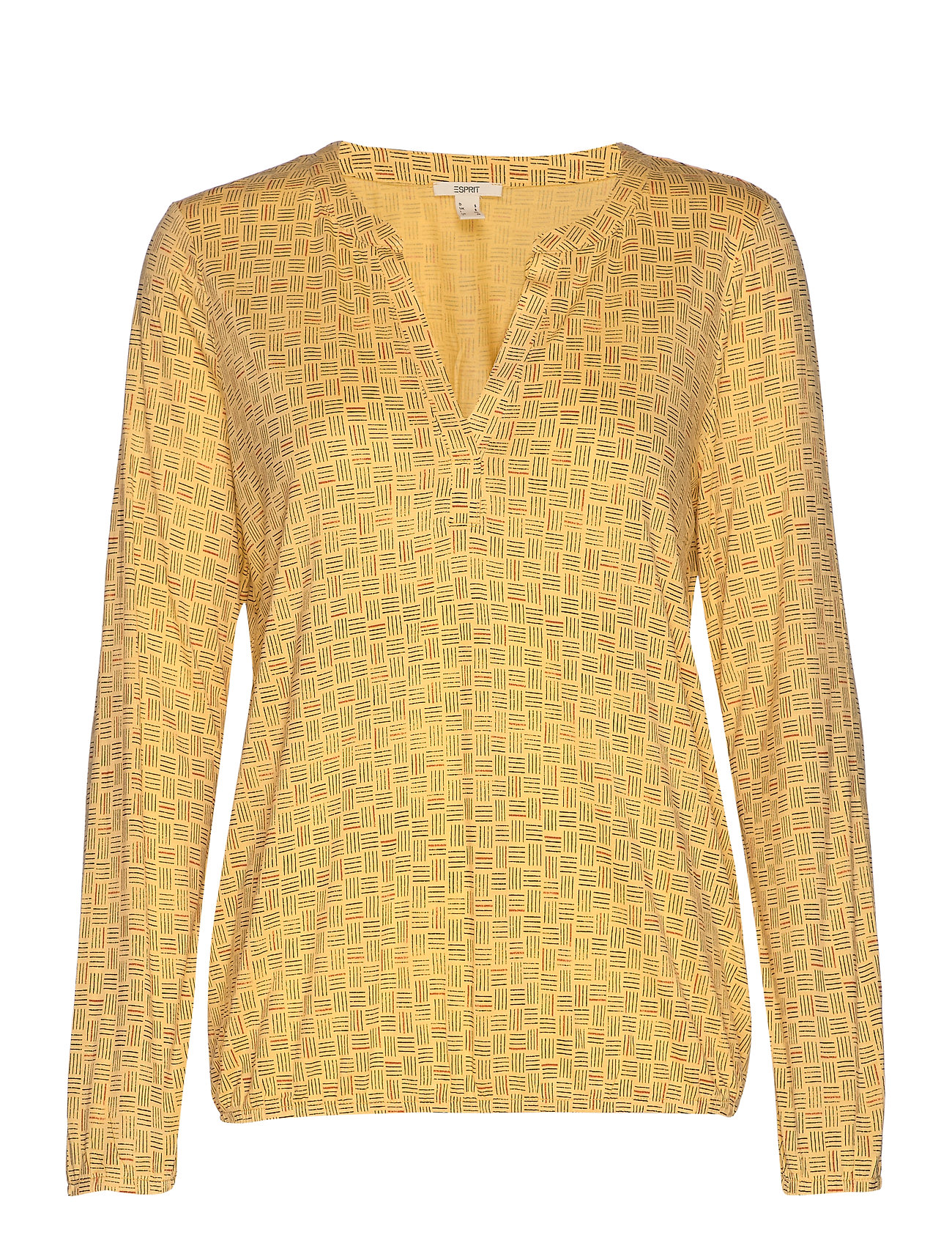 Esprit Casual T-Shirts - DUSTY YELLOW
