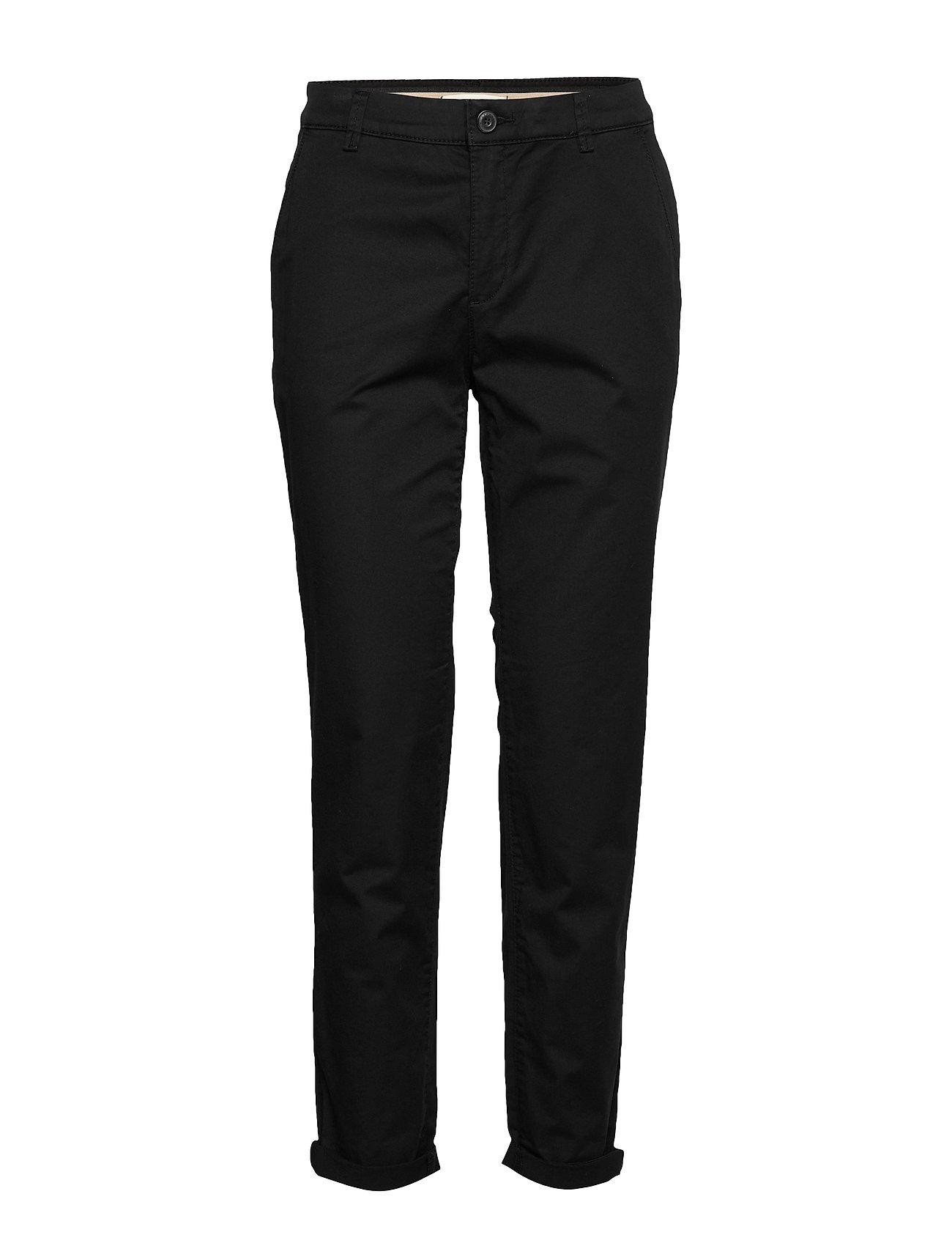 Esprit Casual Pants woven - BLACK