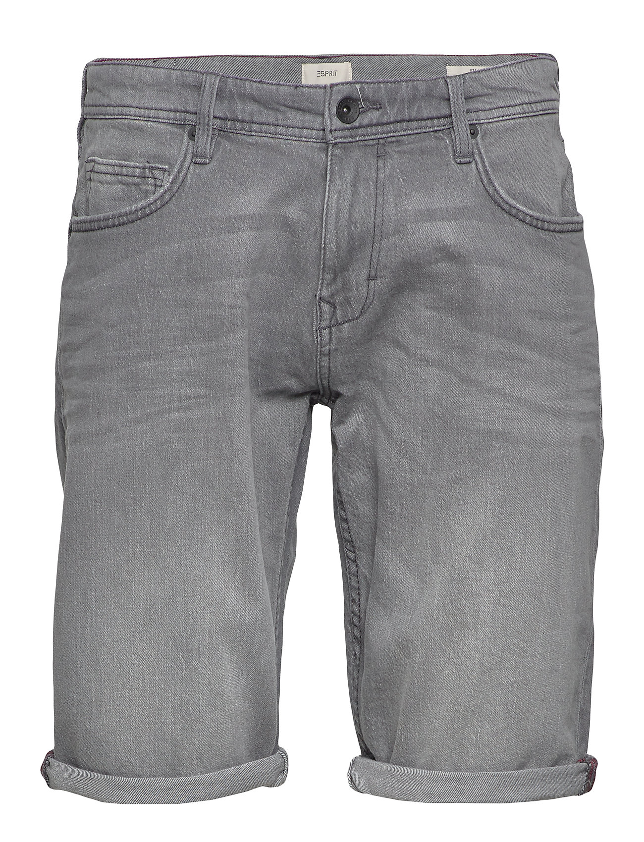 Esprit Casual Shorts denim - GREY LIGHT WASH