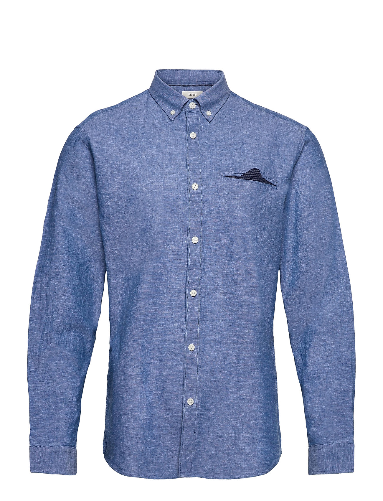 Image of Shirts Woven Skjorte Casual Blå Esprit Casual (3437564935)