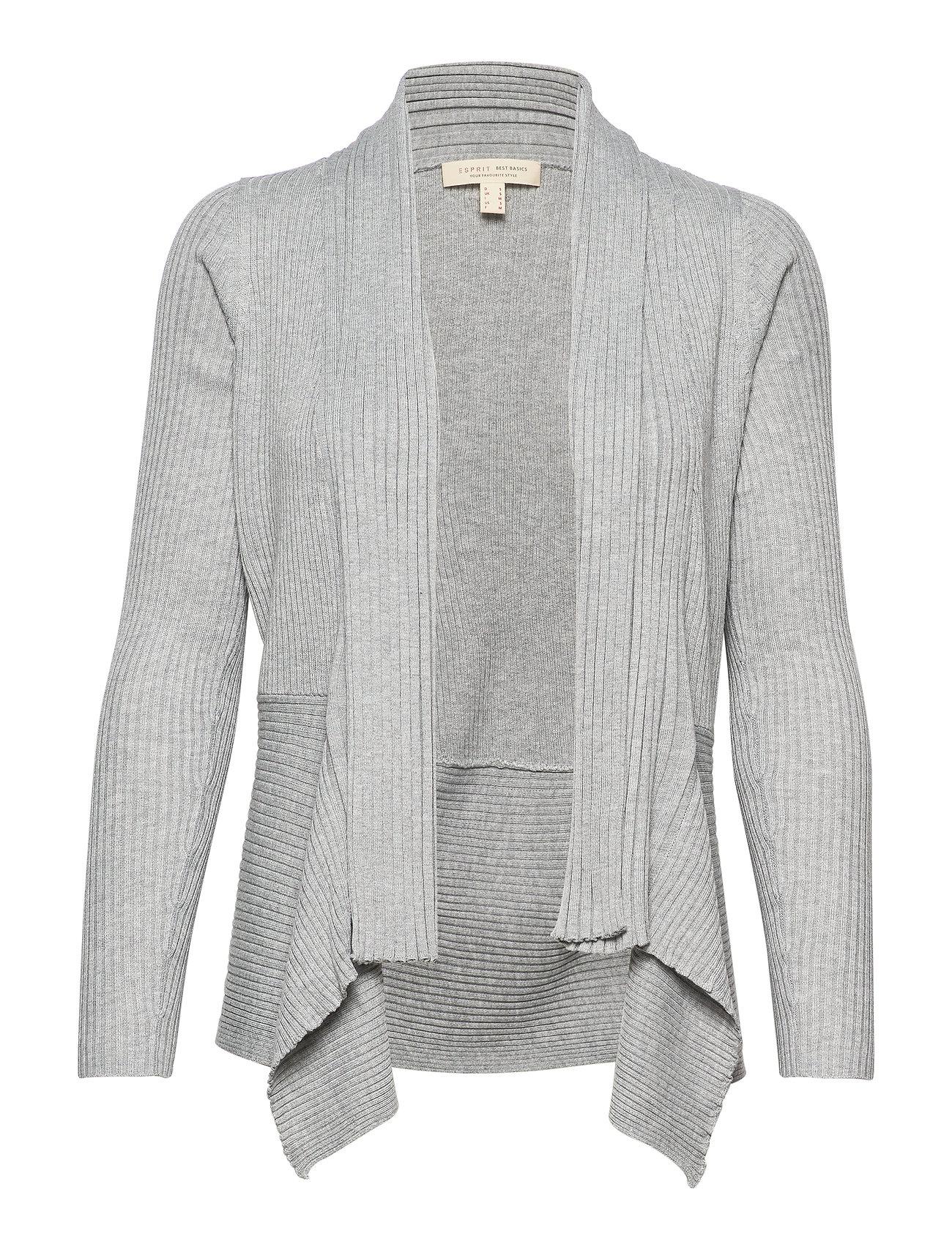 Esprit Casual Sweaters cardigan - LIGHT GREY 5