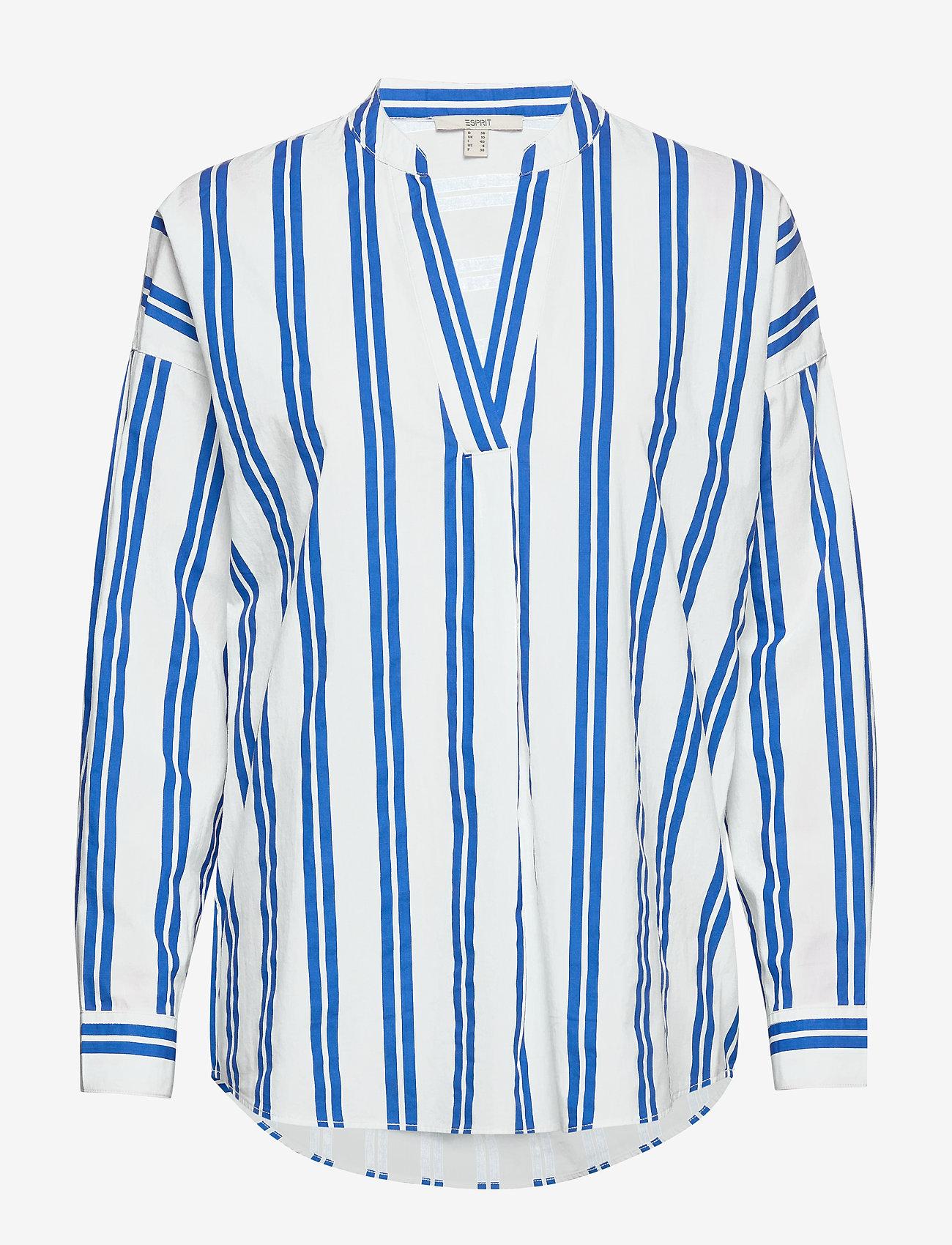 Esprit Casual - Blouses woven - langærmede bluser - bright blue - 0