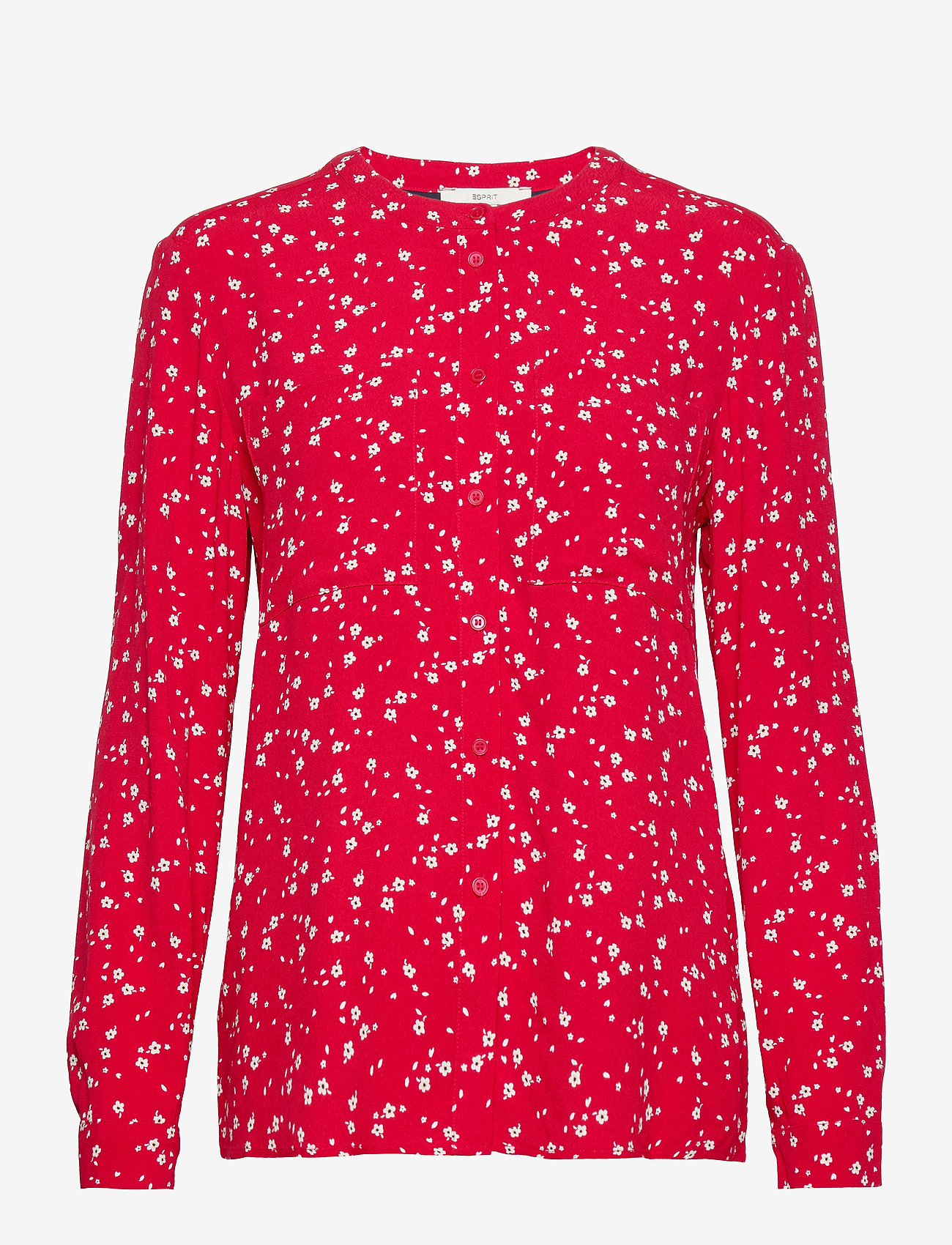 Esprit Casual - Blouses woven - langærmede toppe - red - 1