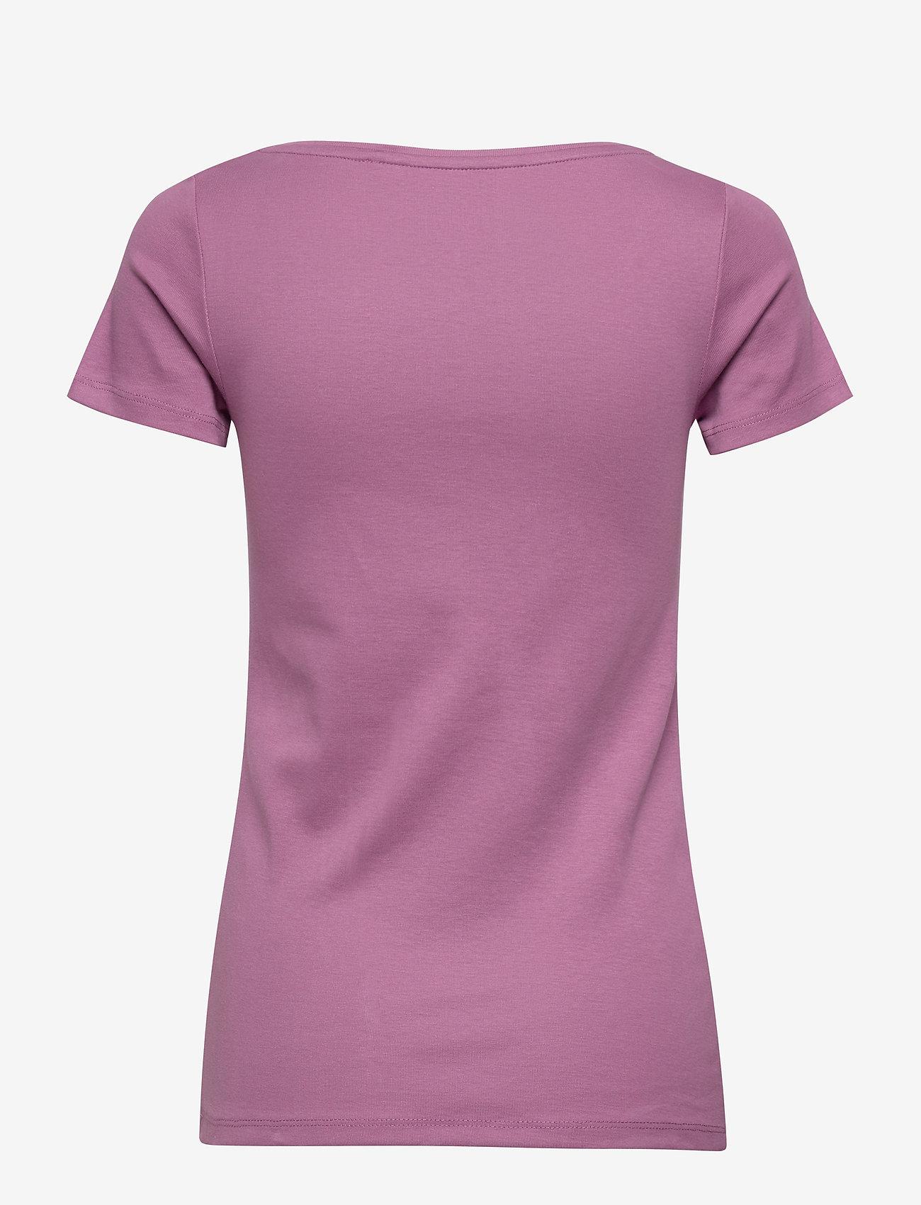 Esprit Casual - T-Shirts - t-shirts - dark mauve 4 - 1