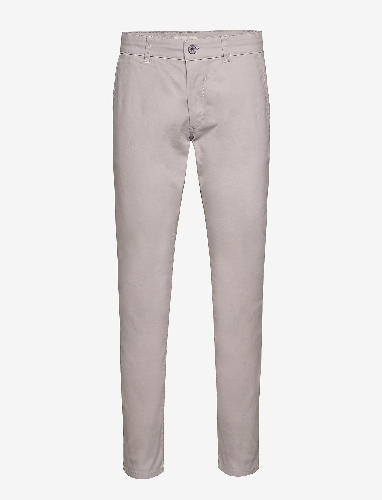 Esprit Casual - Pants woven - chino's - light grey - 0