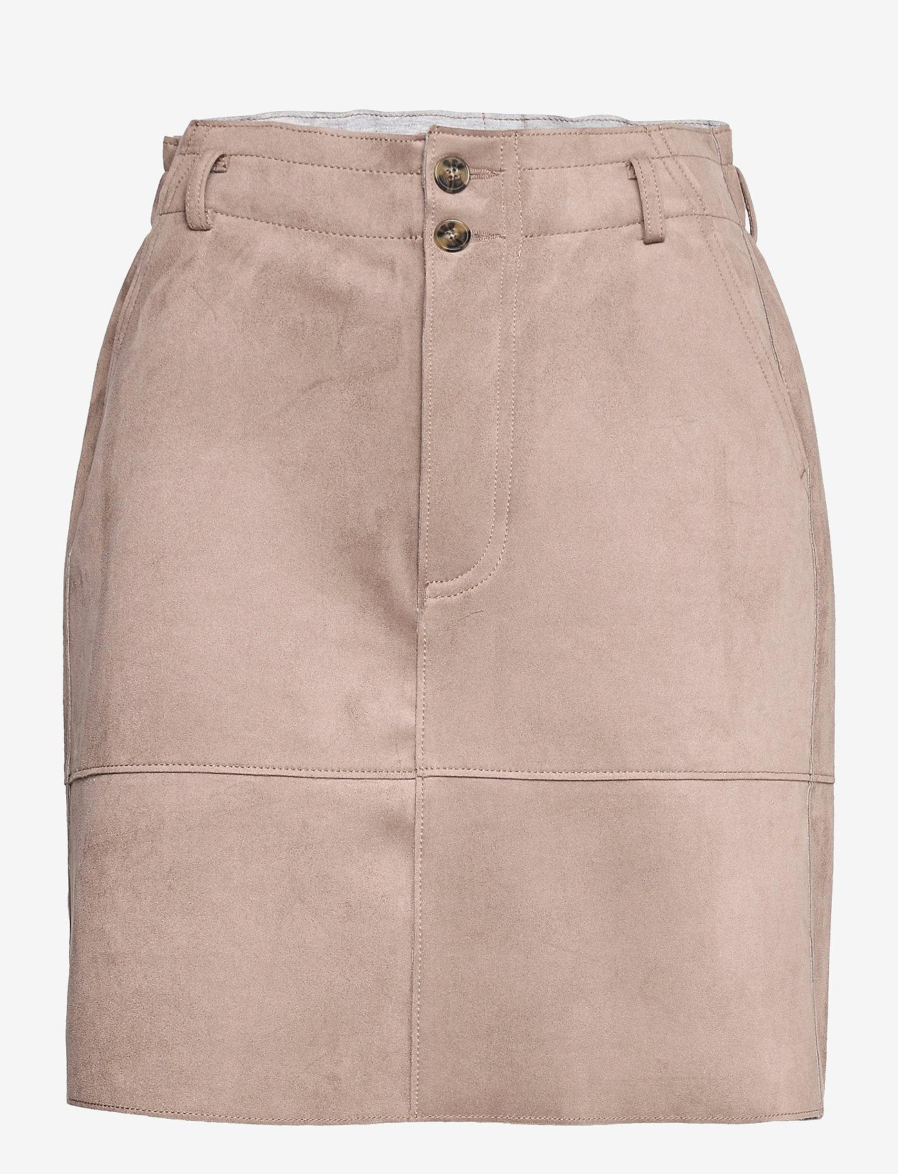 Esprit Casual - Skirts woven - korta kjolar - taupe - 0