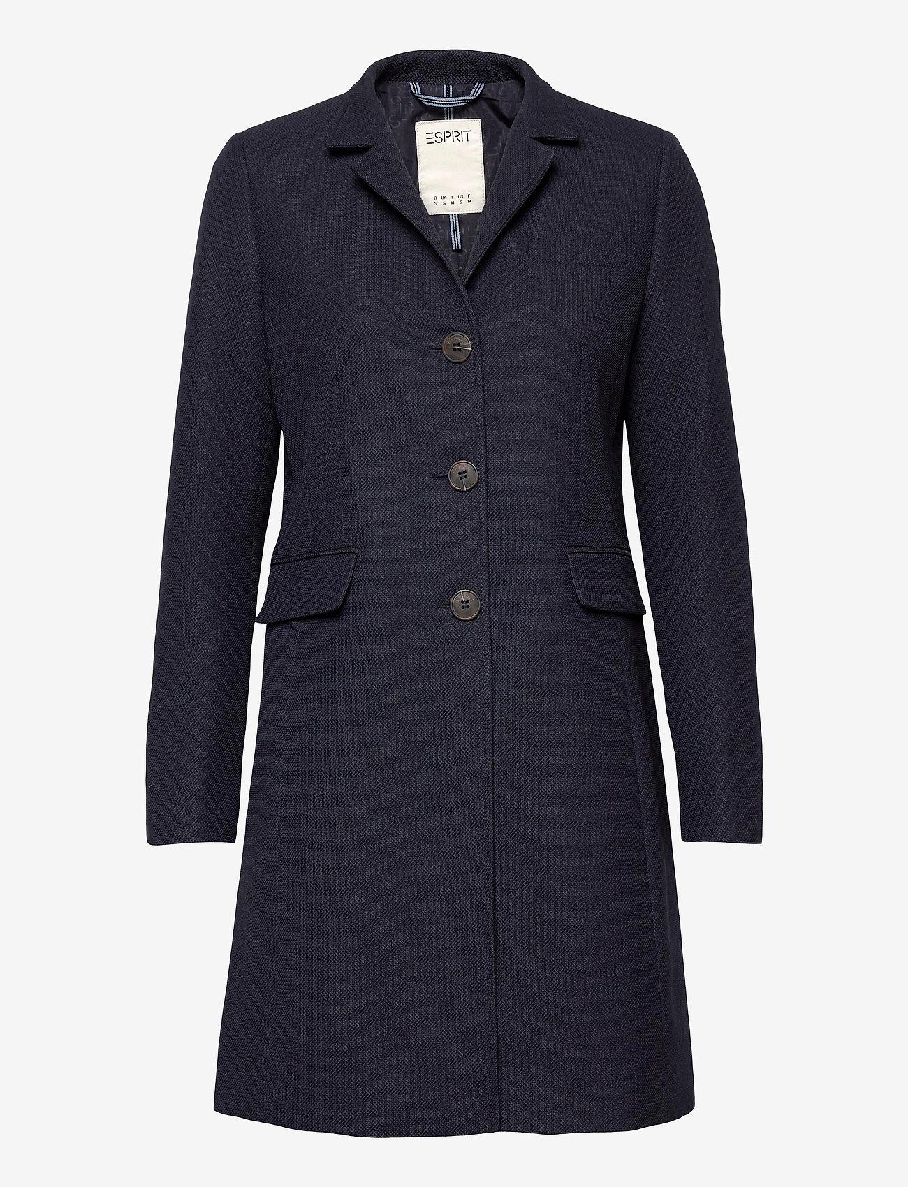 Esprit Casual - Coats woven - manteaux legères - navy - 0