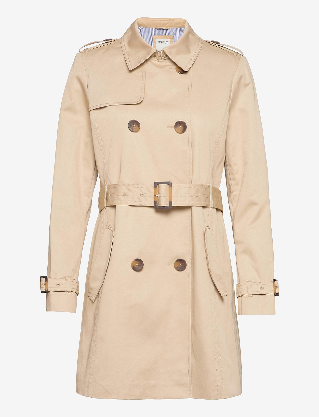 Esprit Casual - Coats woven - trenchs - sand - 0