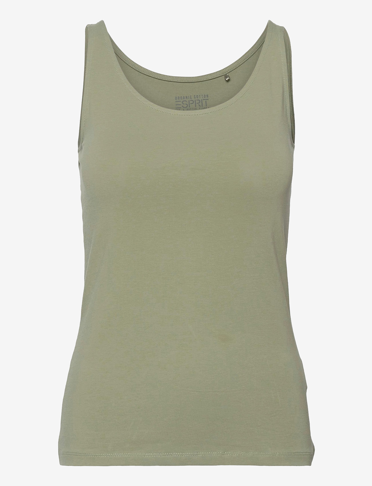Esprit Casual - T-Shirts - t-shirt & tops - light khaki - 0